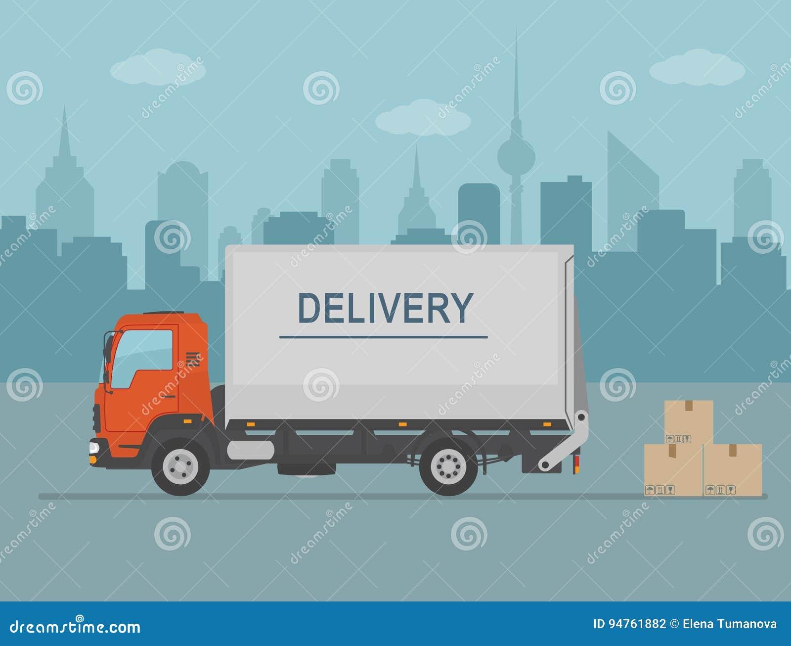 Oil Food Truck