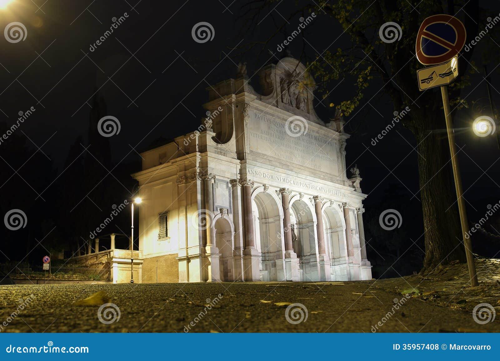 Dell Acqua Paola de Fontana en Roma