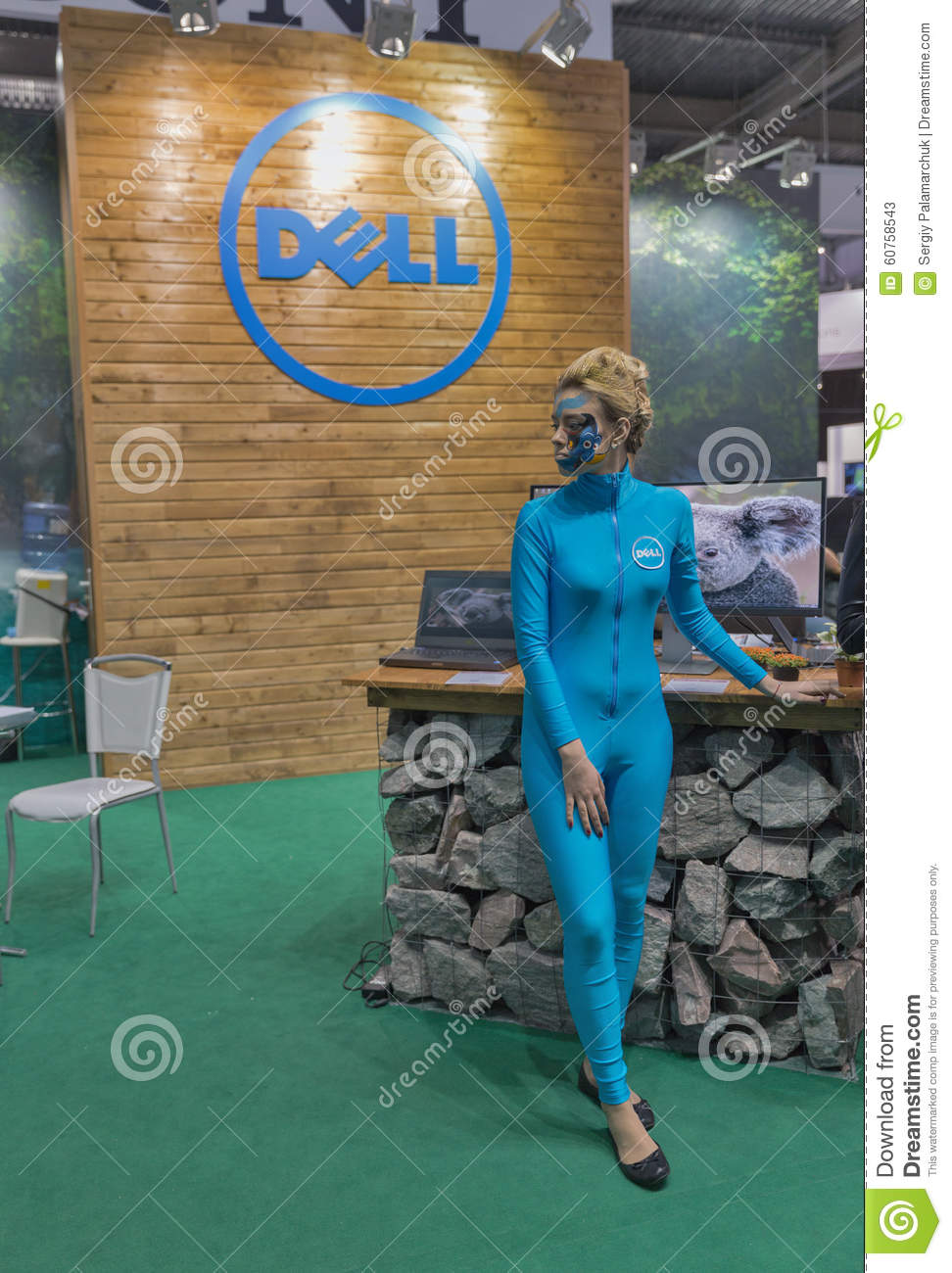 Dell company booth at cee 2015 the largest electronics for Largest craft shows in the us