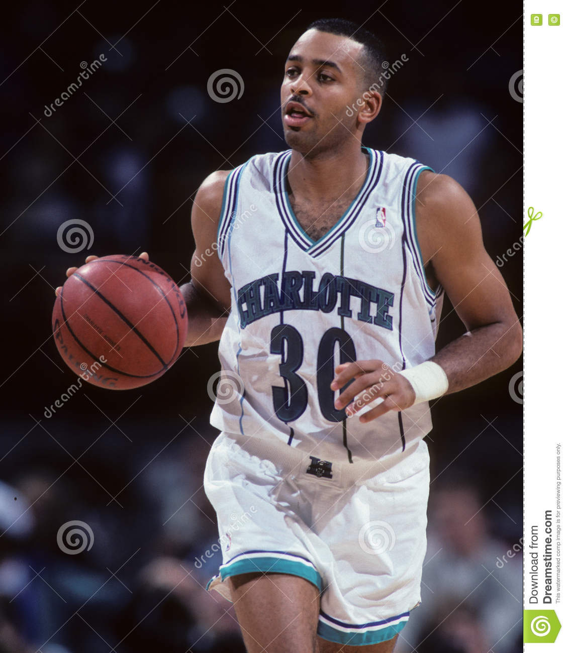 size 40 4ea74 f50b3 Dell Curry, Charlotte Hornets Editorial Photo - Image of ...