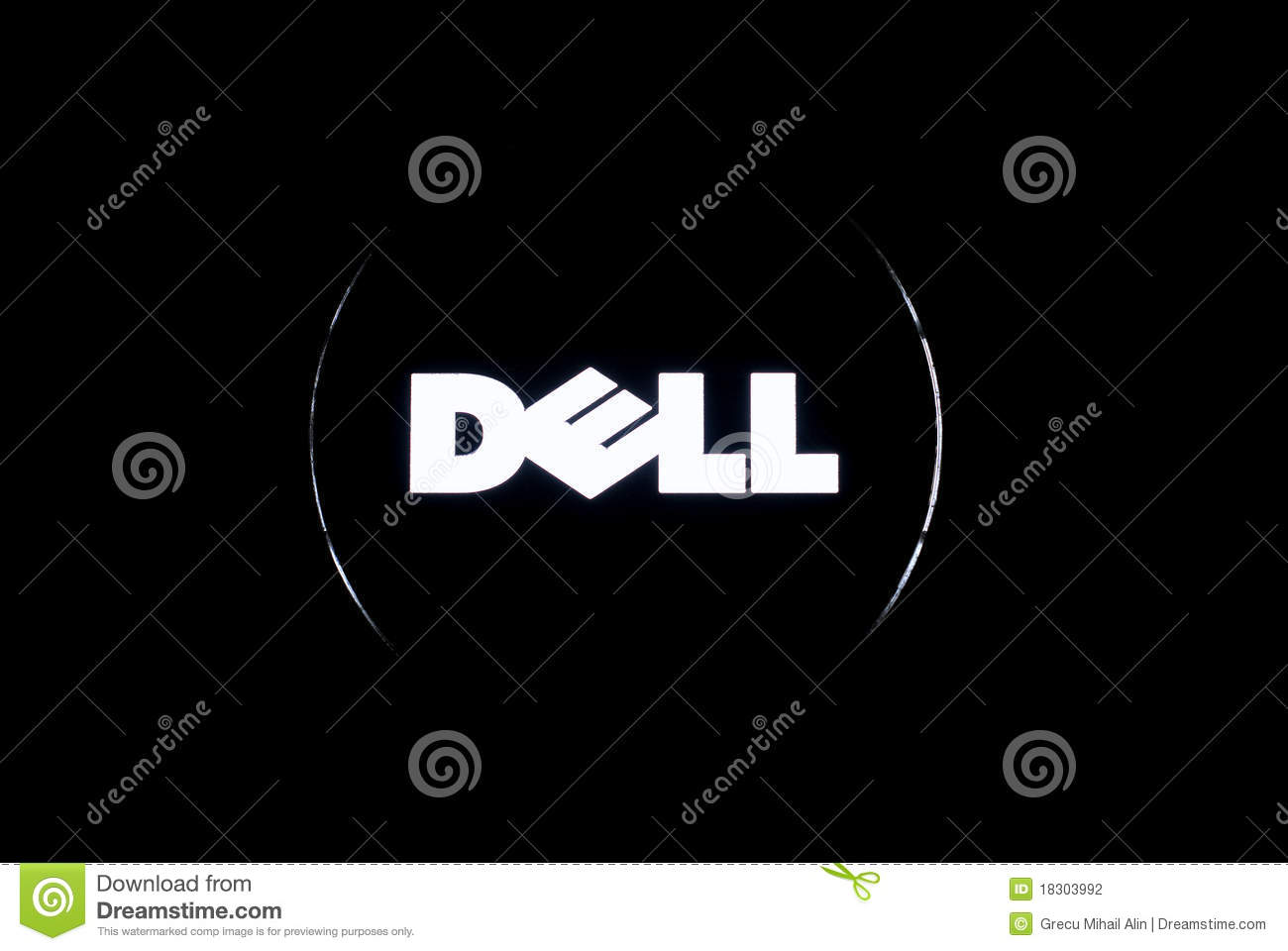 Dell logo editorial photography image of corporation 18303992 dell logo editorial stock photo biocorpaavc Images