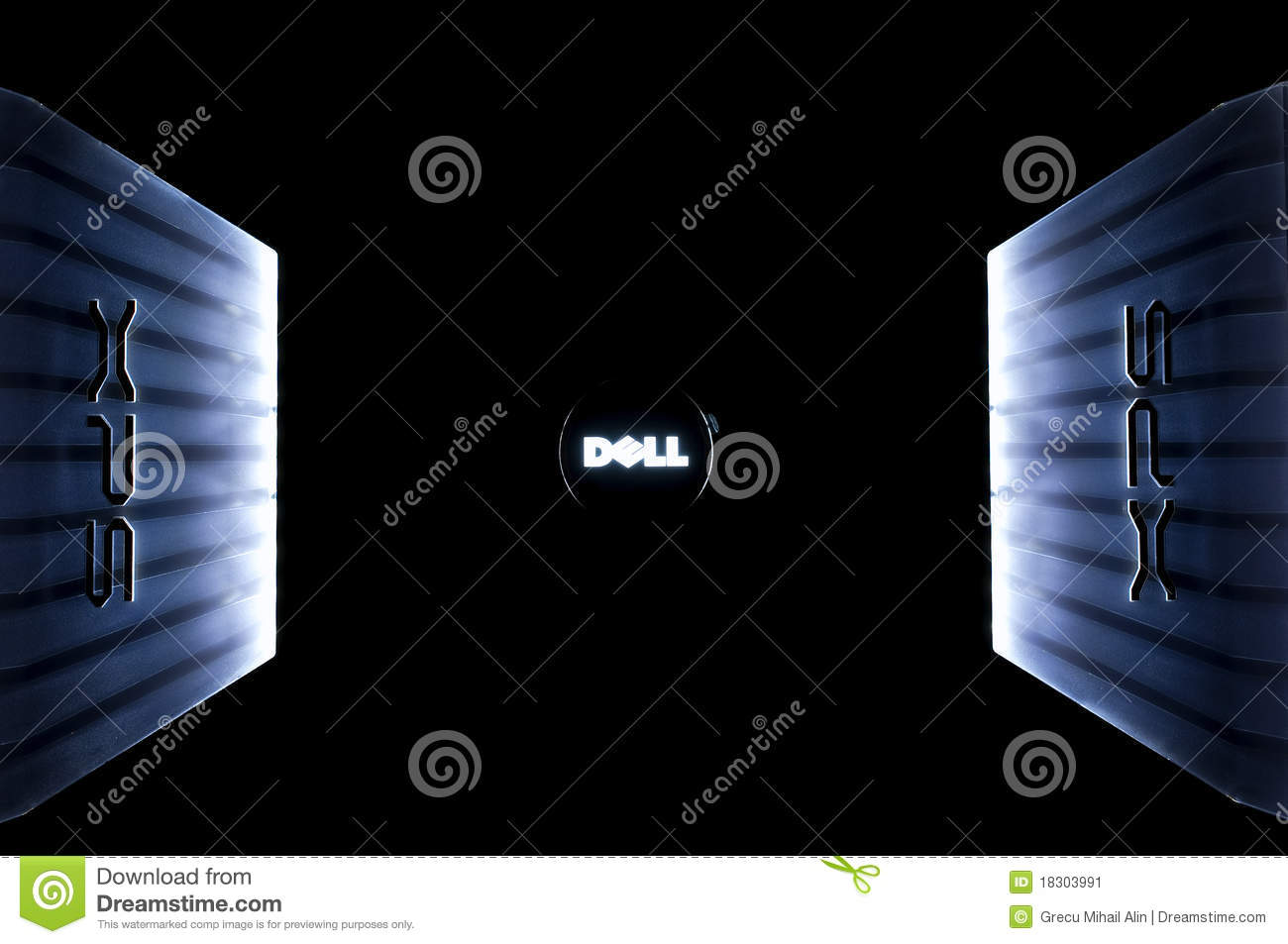 Dell Xps Laptop Logo Editorial Photo Image Of Computer 18303991