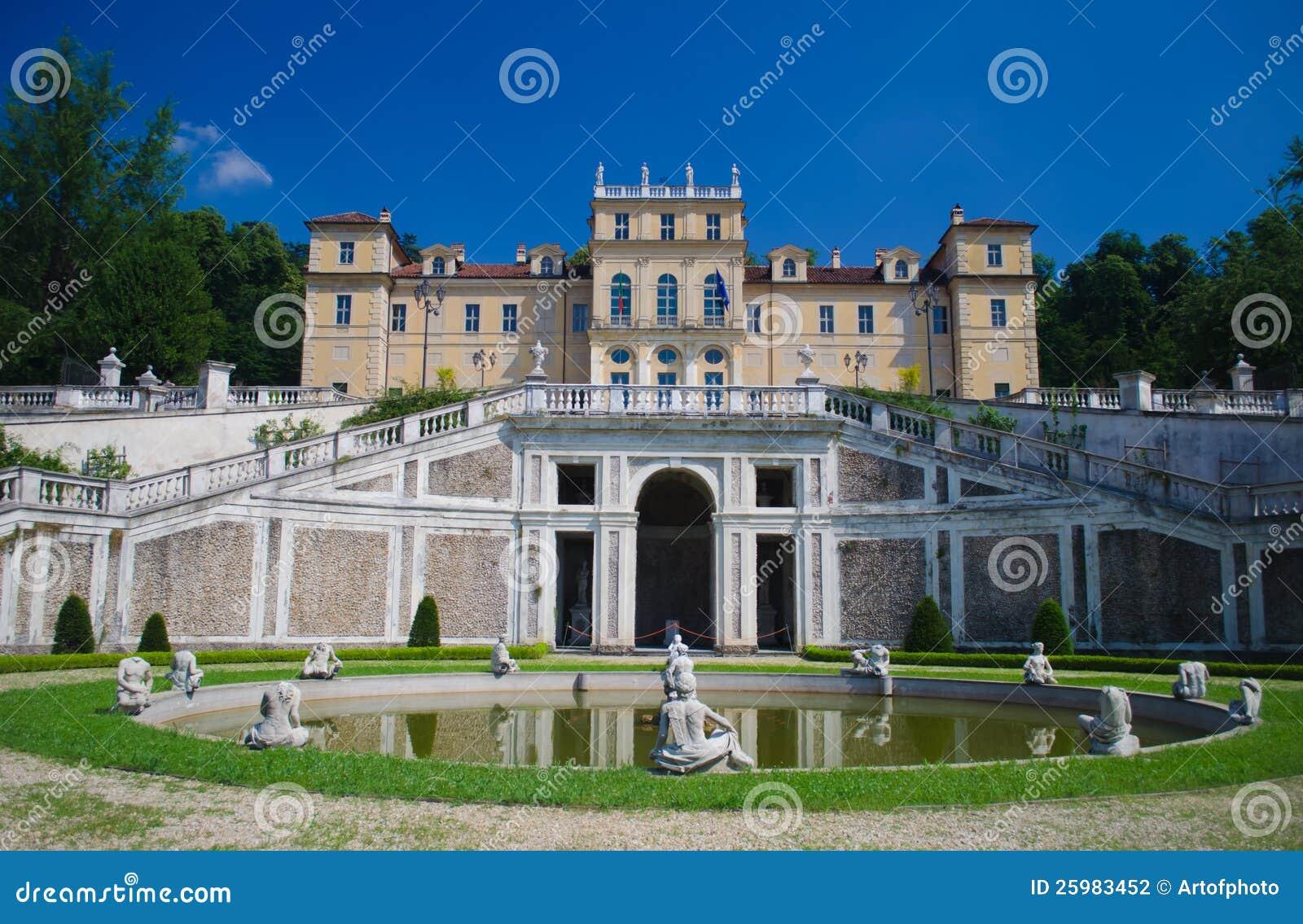 Della Regina della villa a Torino, Italia