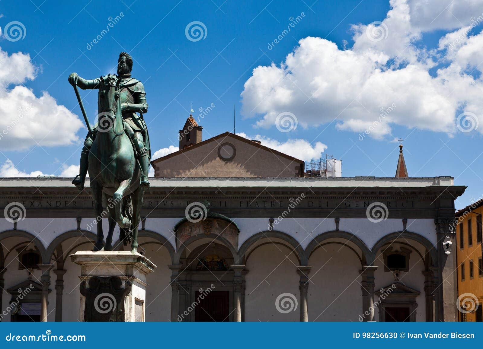Della Santissima Annunziata da basílica, Florença, Itália
