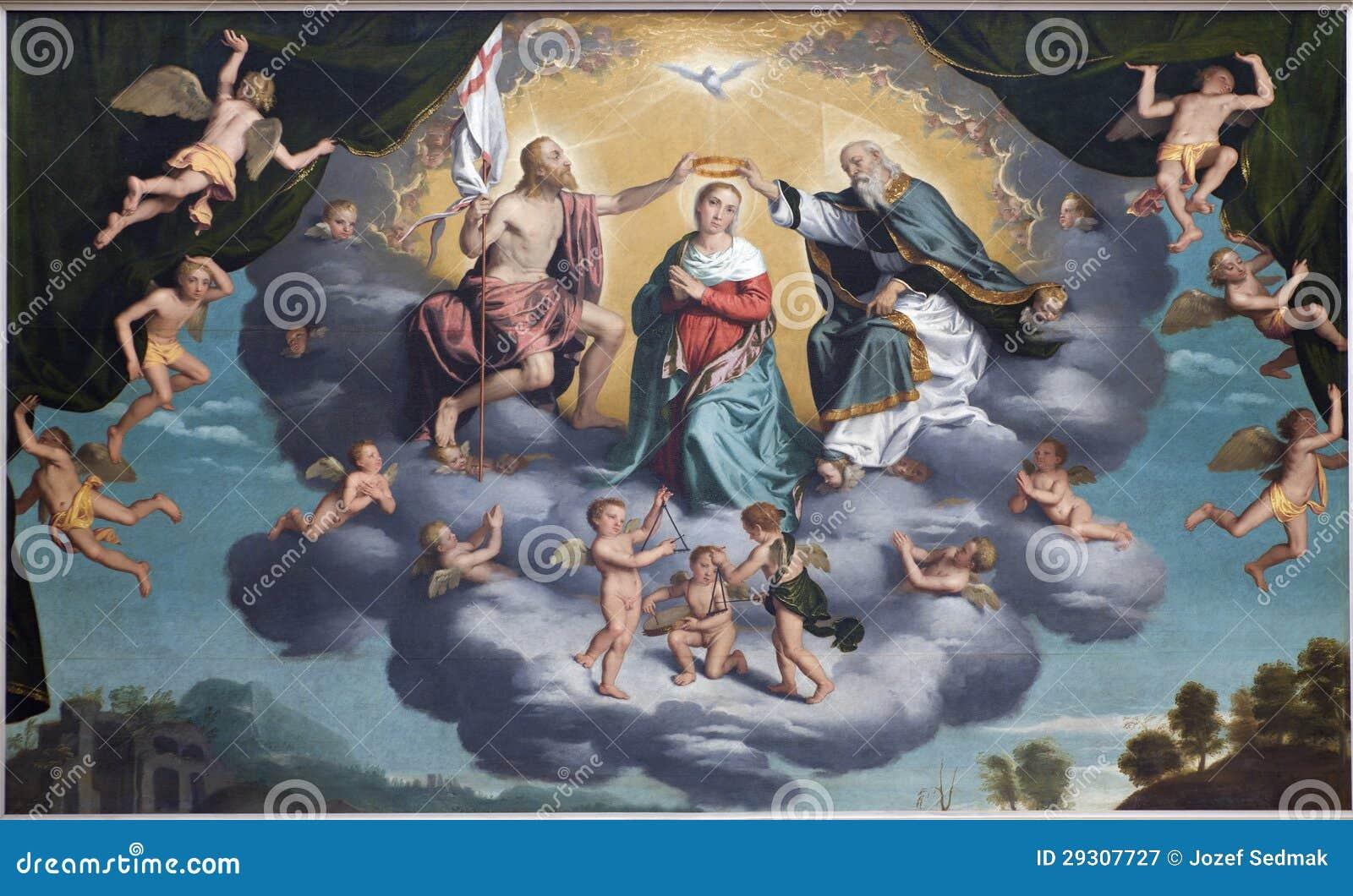 Della Vergine de Verona - de Incoronazione - coronación de hl. Maria