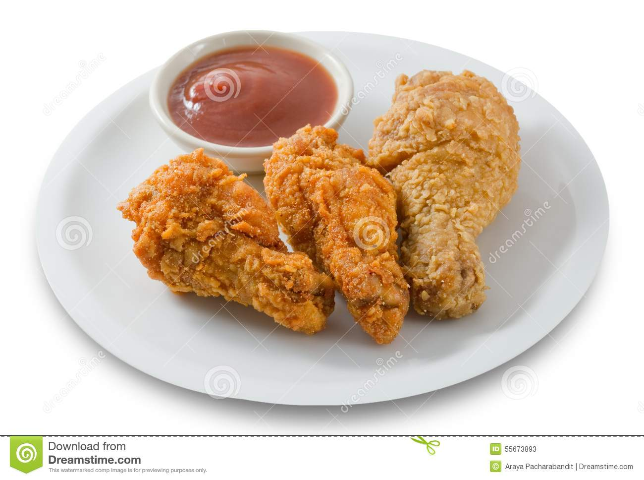 Fast Food Chicken Wings Calories