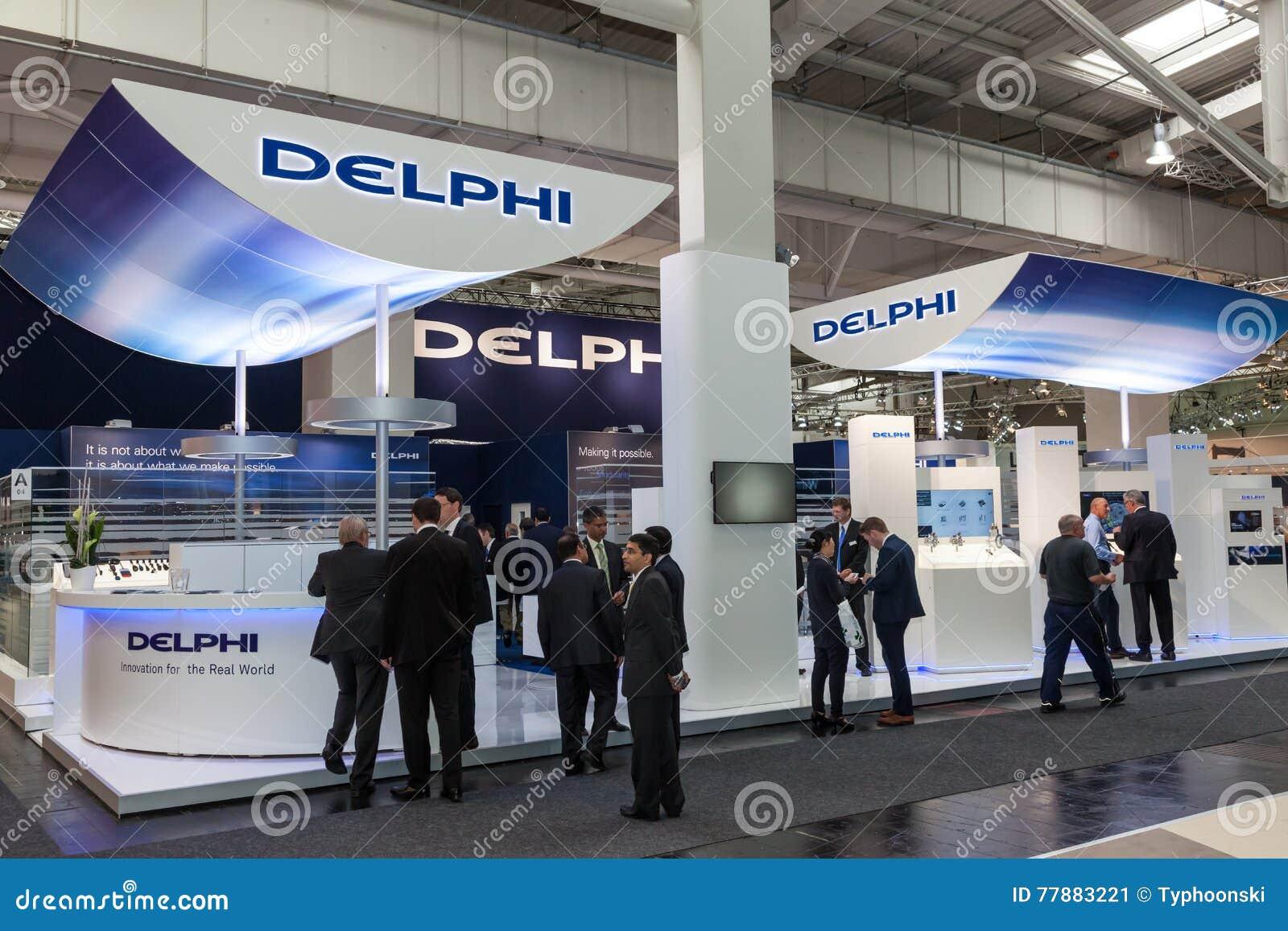 DELPHI Automotive Company At The IAA 2016 Editorial Photo