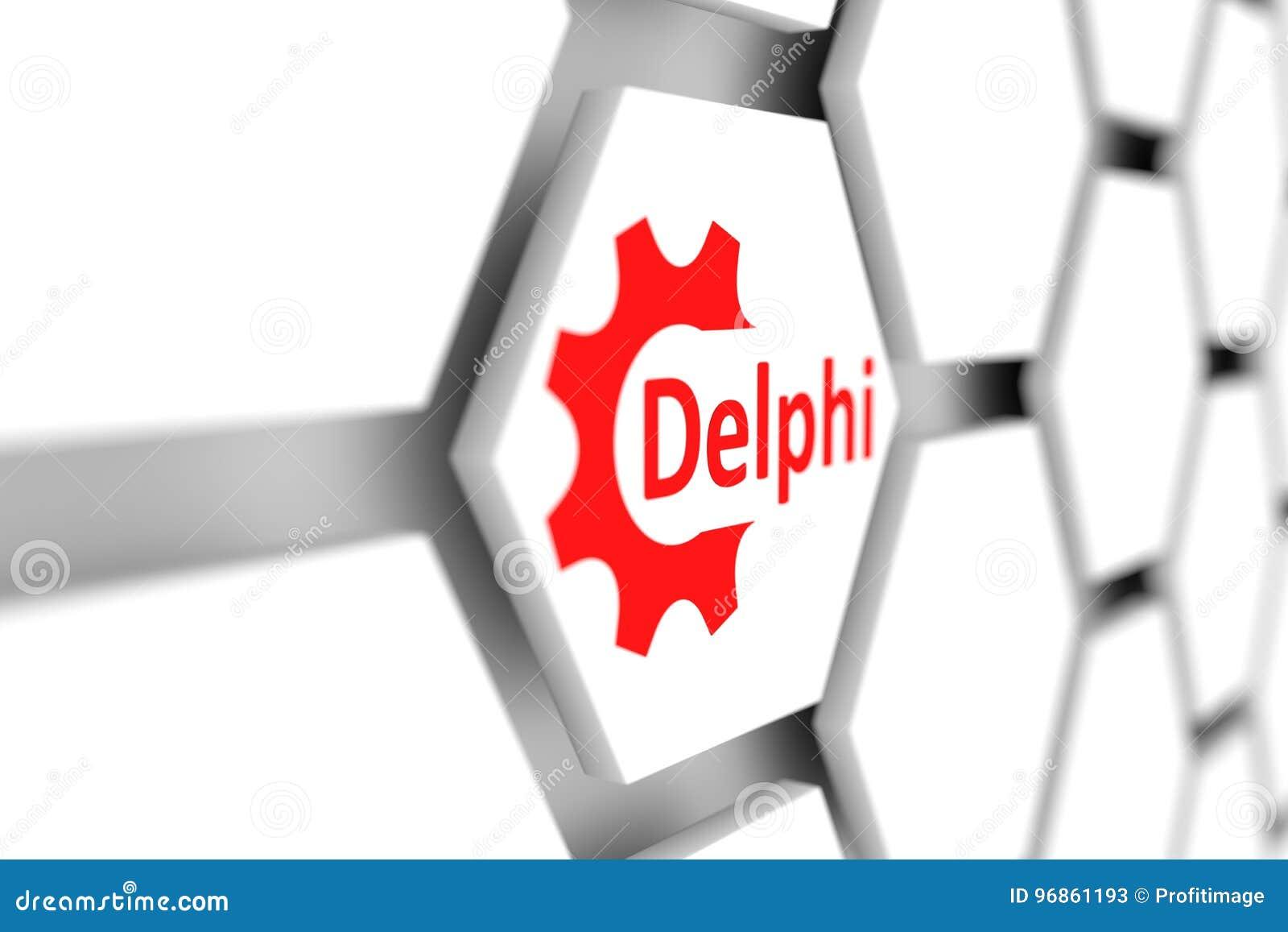 Delphi stock illustration  Illustration of cell, programming - 96861193