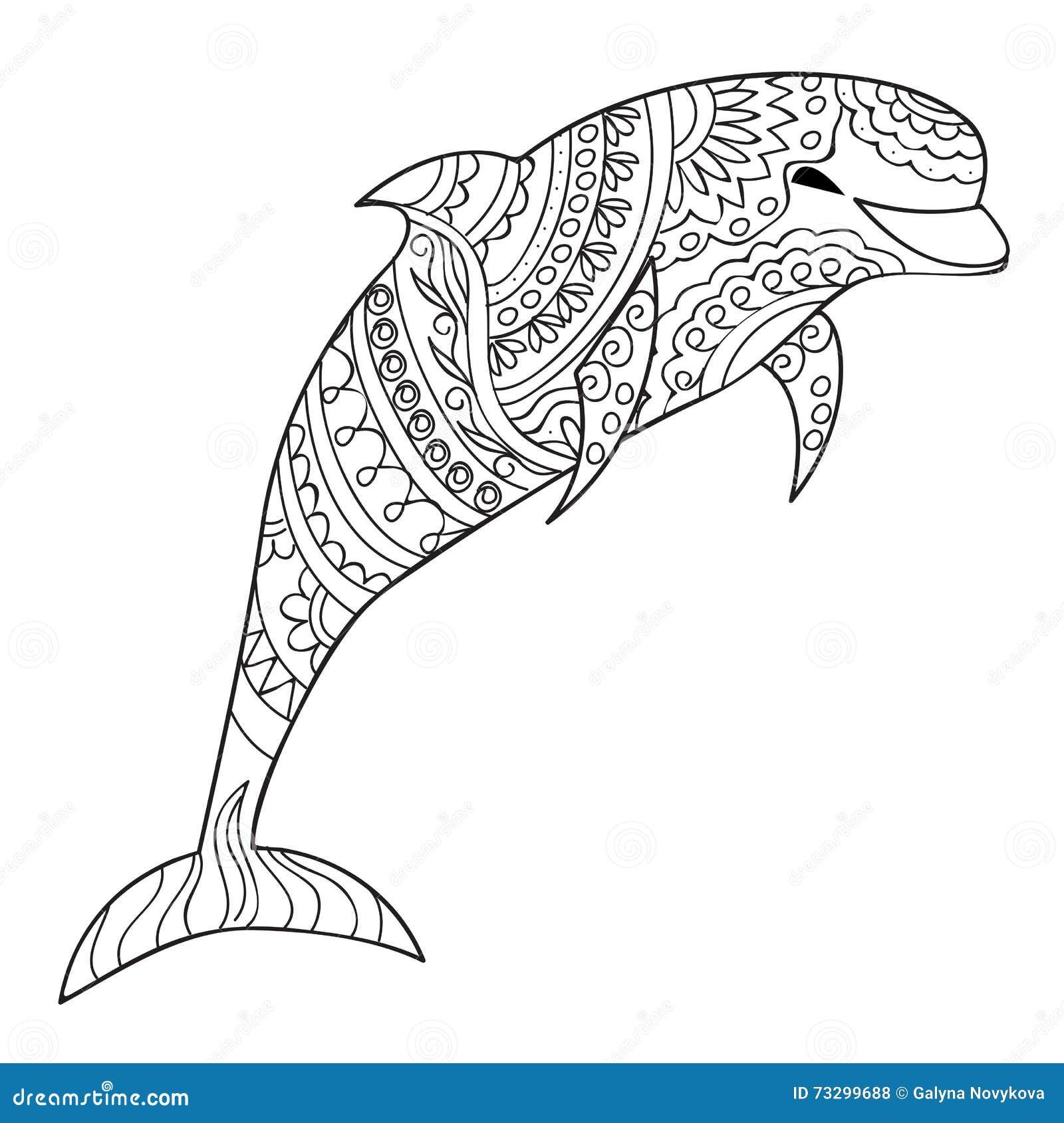 delphin vektor abbildung illustration von ozean