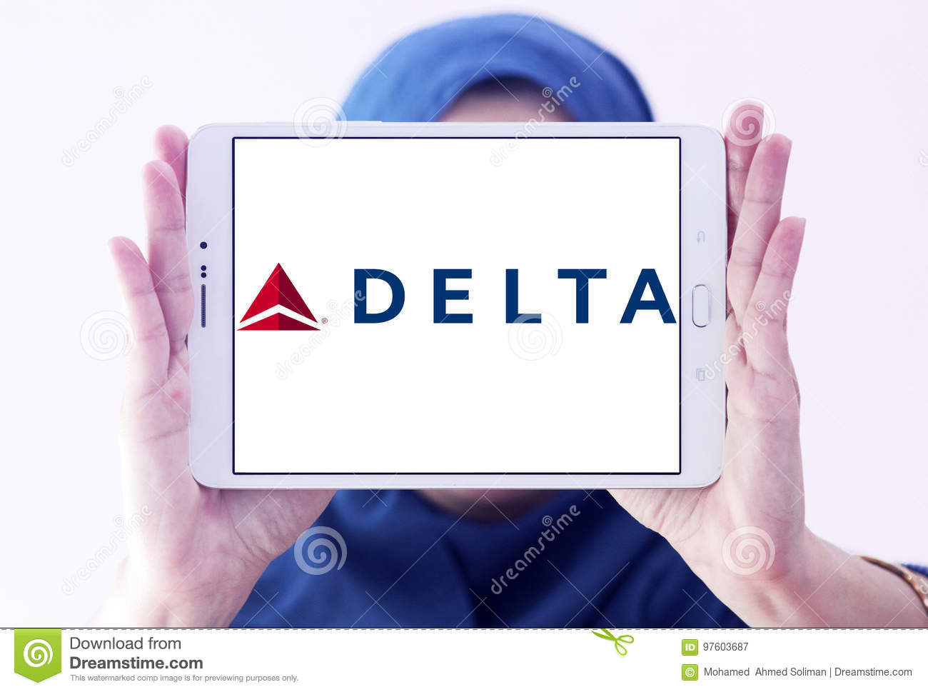 Delta airlines logo editorial photography image of flight 97603687 delta airlines logo editorial stock photo biocorpaavc Choice Image