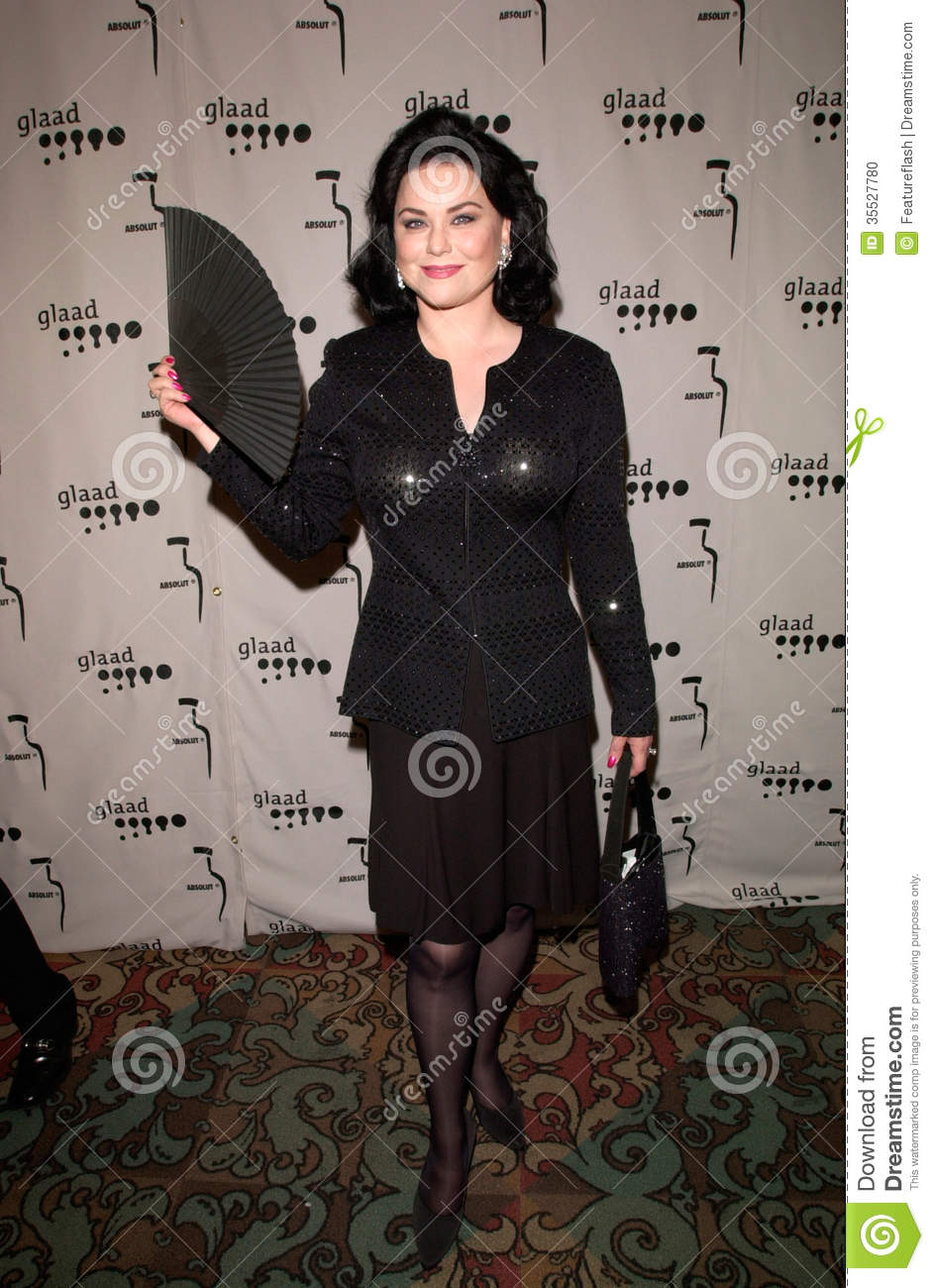 Actress DELTA BURKE at the Gay & Lesbian Alliance Against Defamation ...: www.dreamstime.com/stock-photo-delta-burke-apr-actress-gay-lesbian...