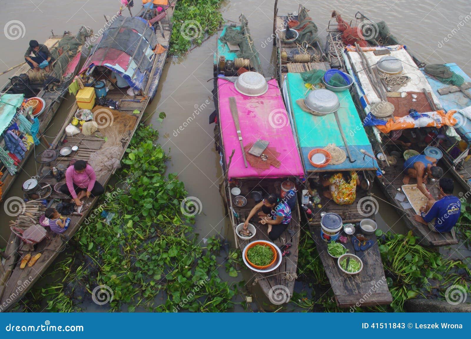 Delta del Mekong en Chau doc.