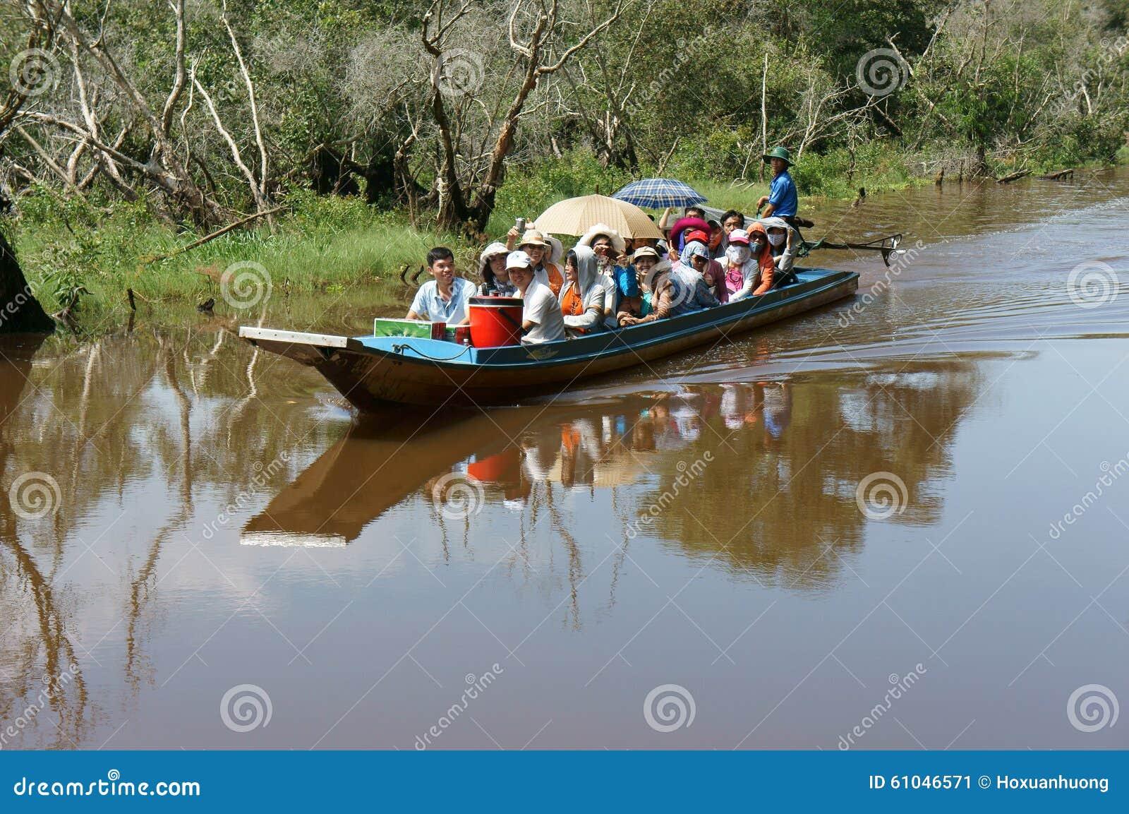 Delta del Mekong, foresta dell indaco di Tra Unione Sovietica, ecoturismo