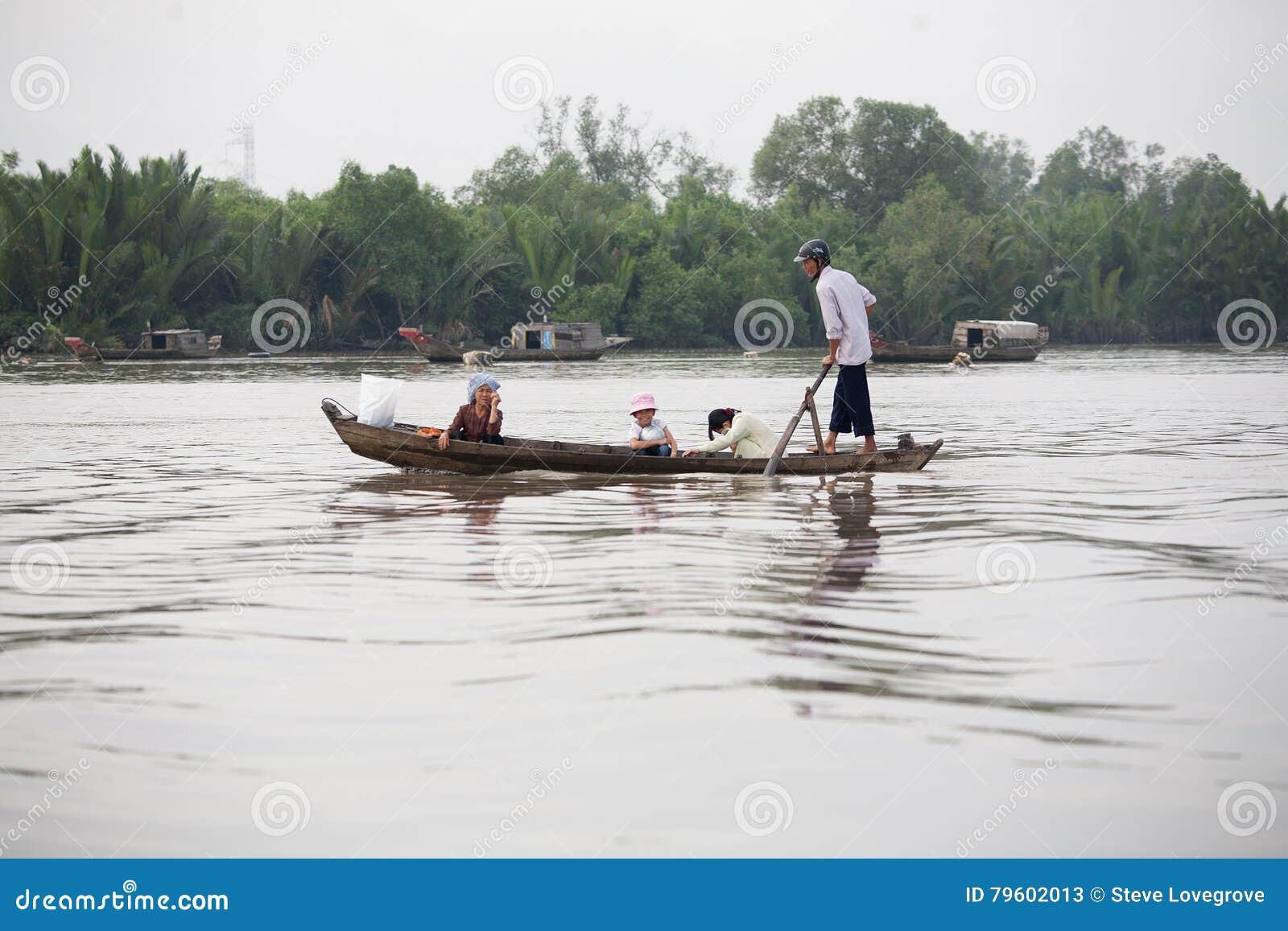 Delta Vietname de Mekong River