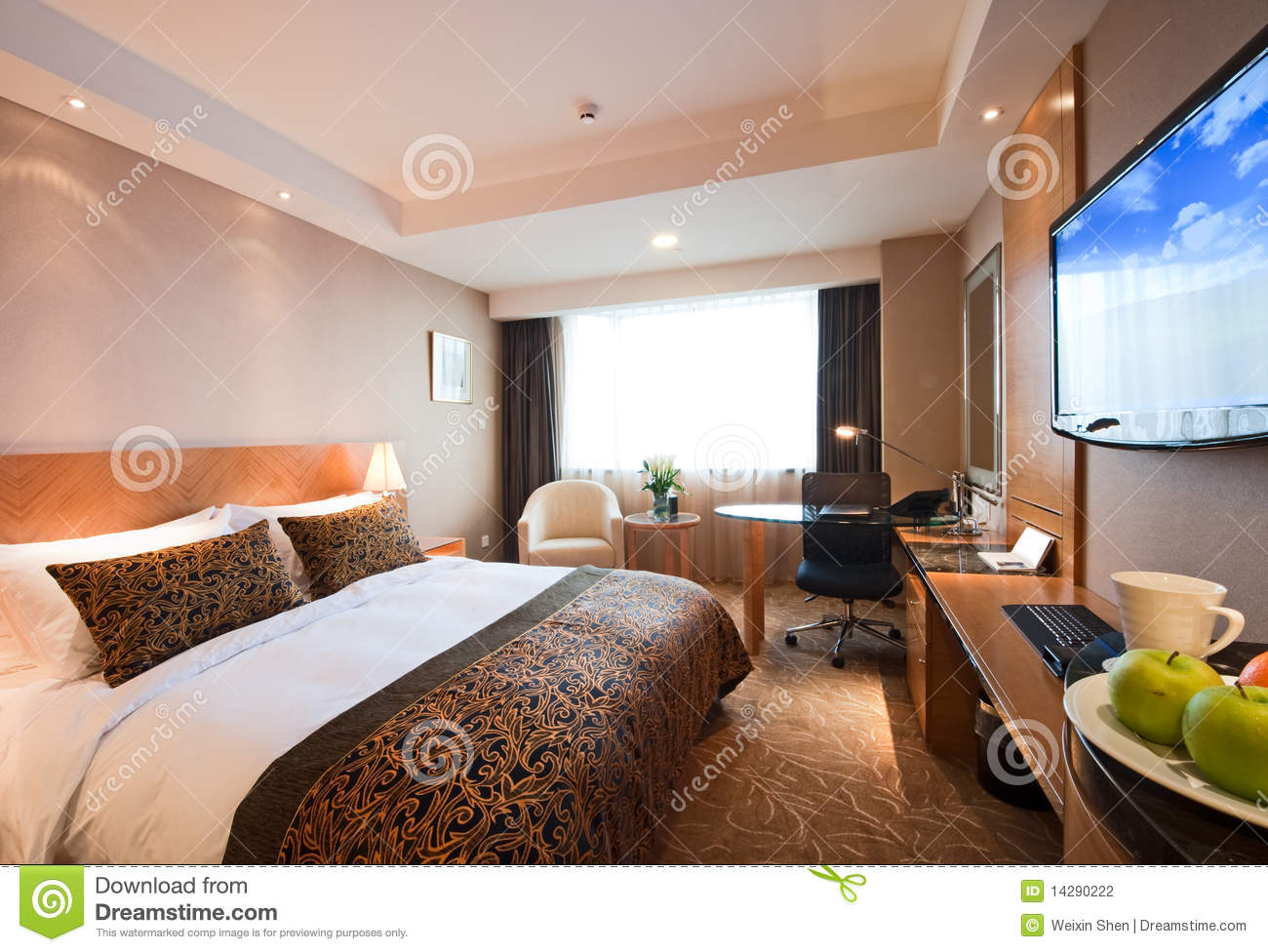 Hotel Rooms Interior the meeting room interior at luxury hotel royalty free stock
