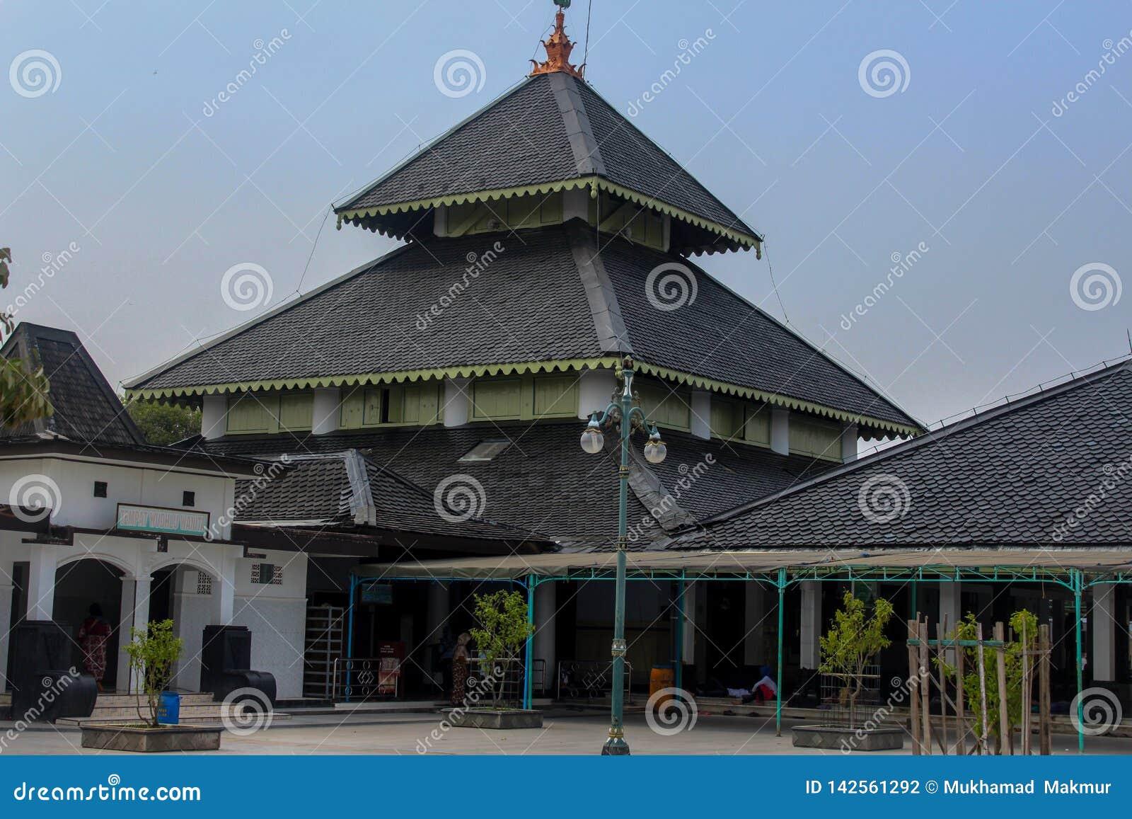 Demak uroczysty meczet, Indonesia