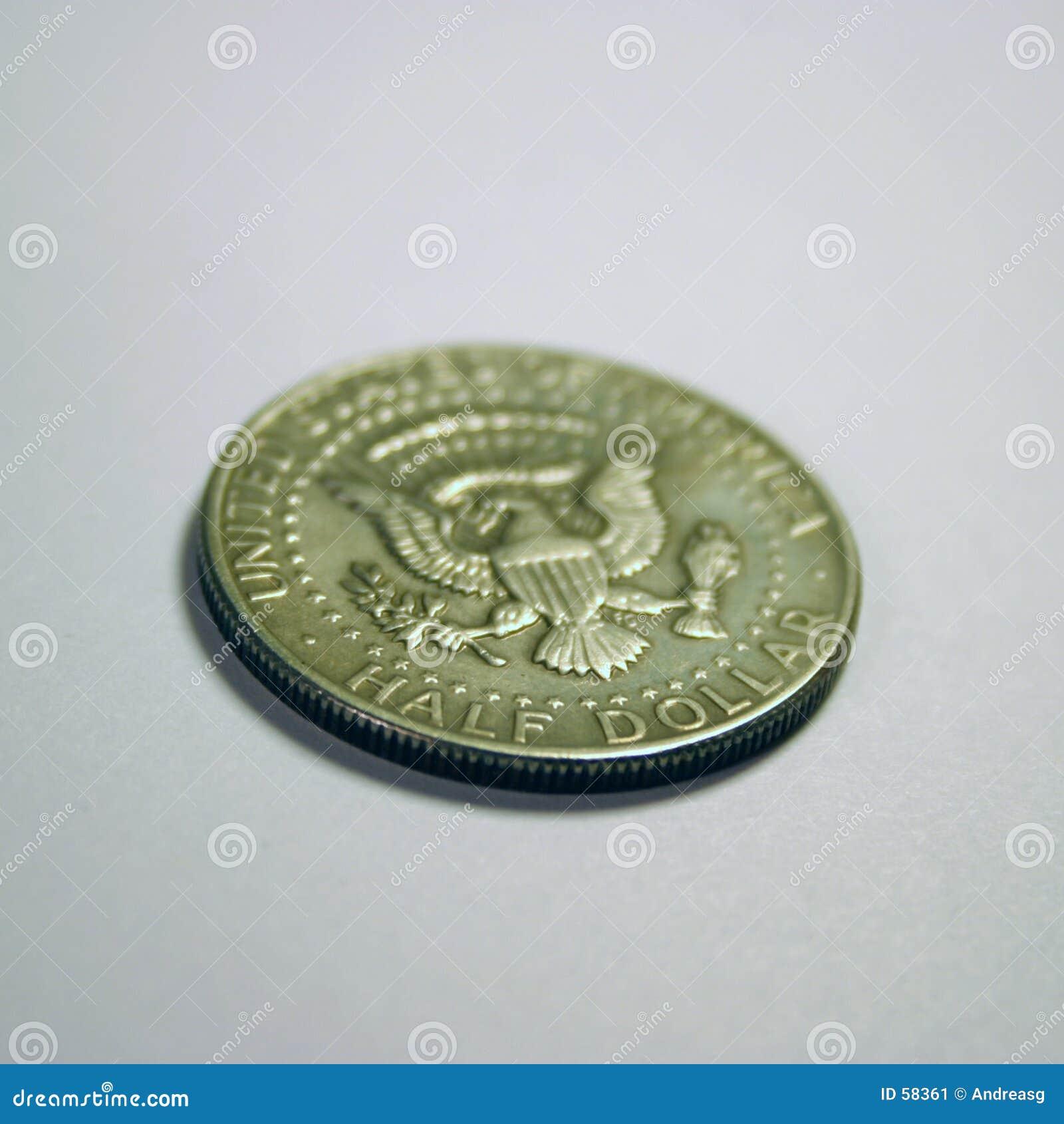 Download Demi-dollar image stock. Image du numismatics, amérique - 58361