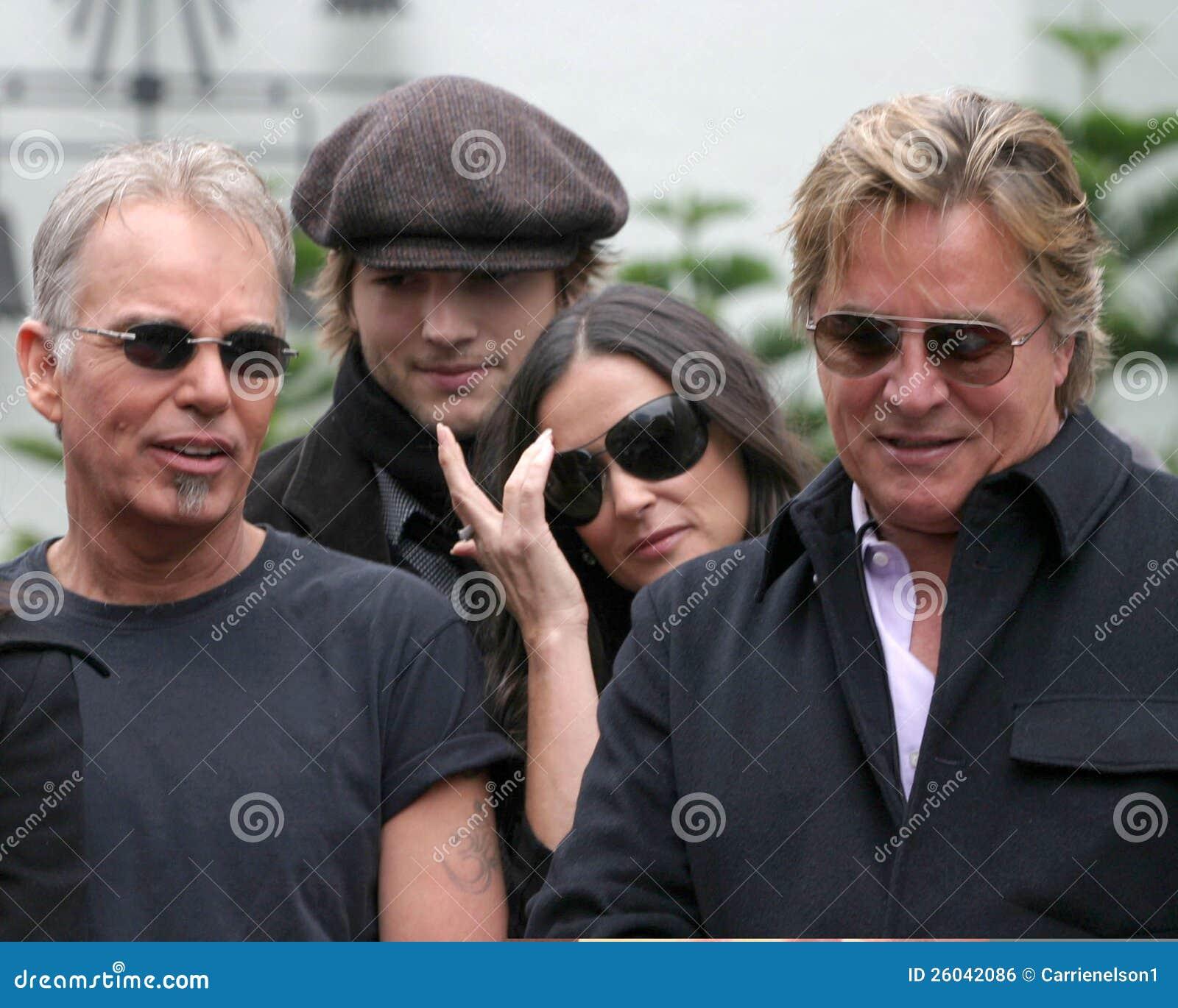 Demi Moore, Don Johnson, Ashton Kutcher, Billy Bob Thornton, PLOMBS Thornton, Bruce Willis de Billy