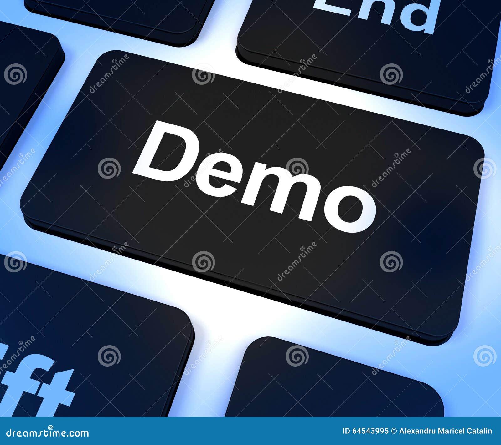 Demo Computer Key To Download una versión del software