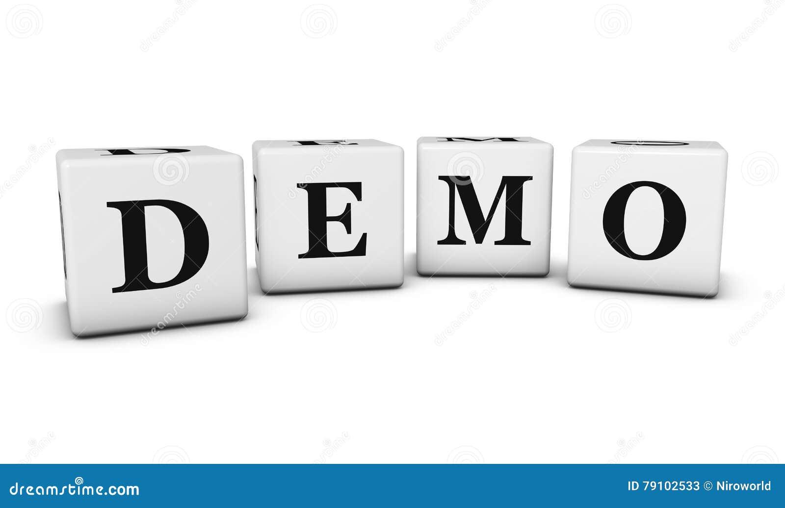 Demo Sign D Cubes
