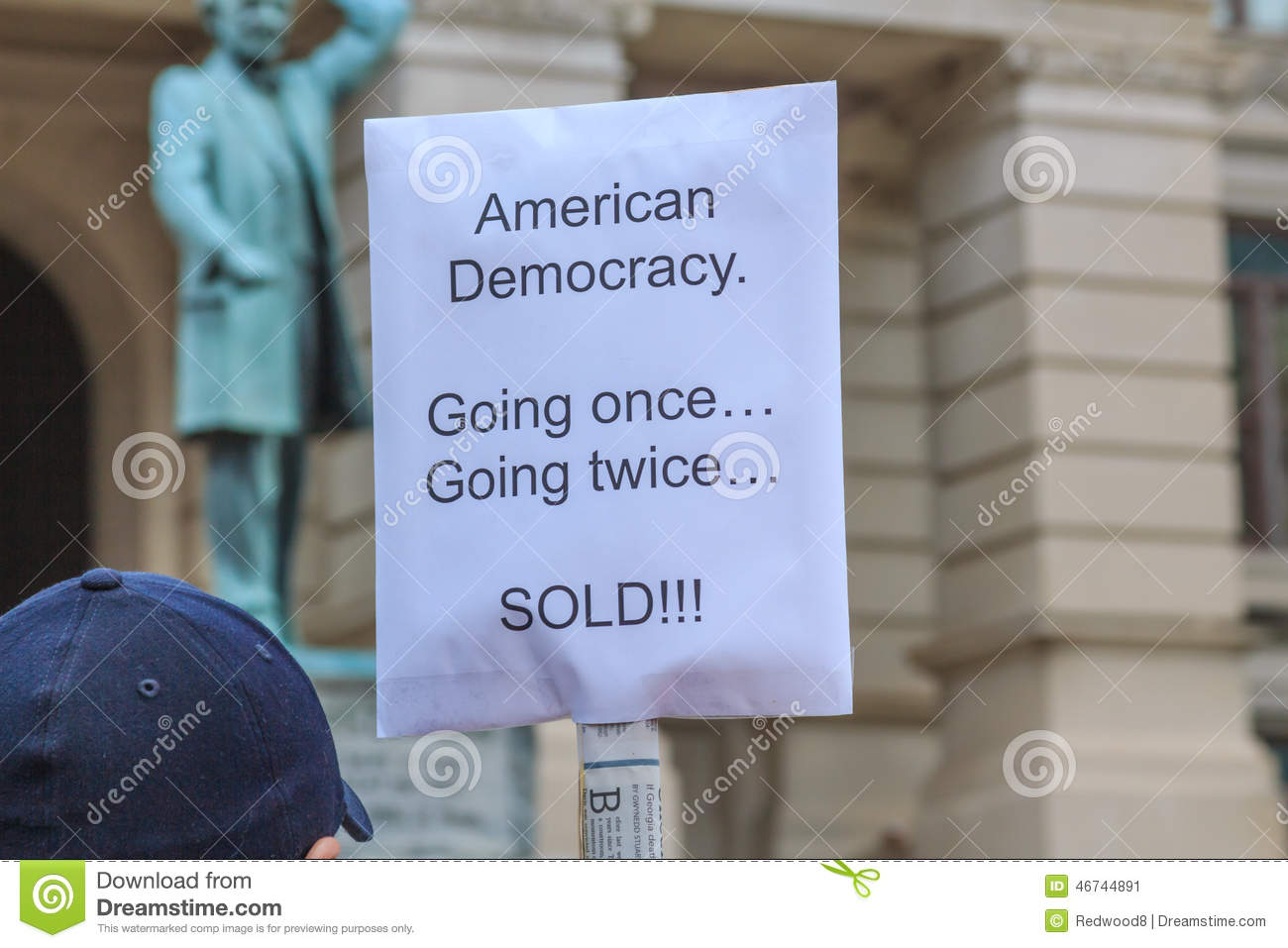 Democracy Bought and Sold