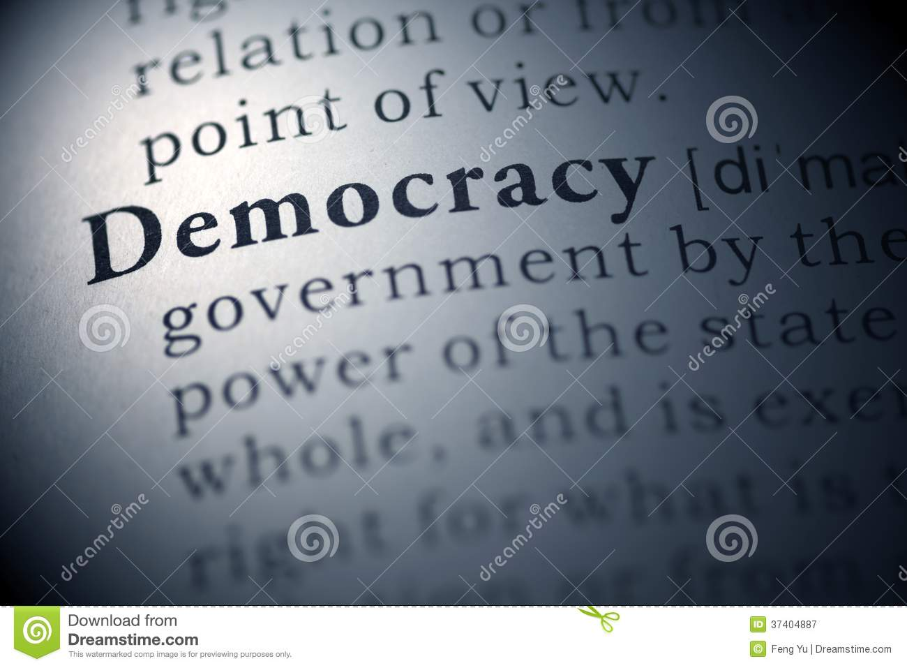 democracy stock image  image of democracy  book  text