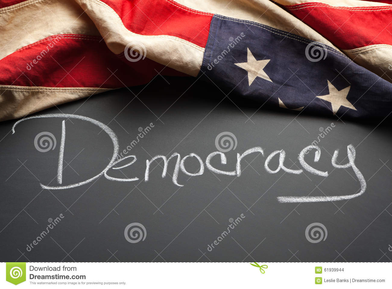 Democracy sign