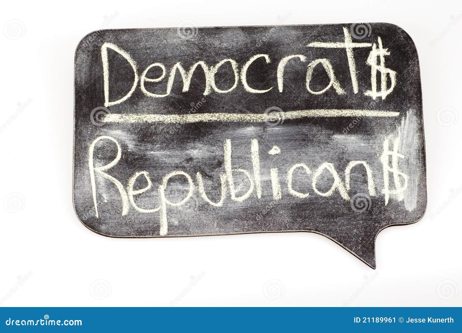Democrats and Republicans