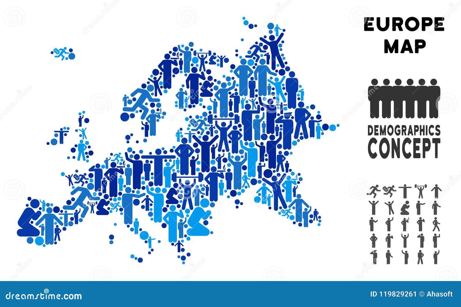 Demography Map on