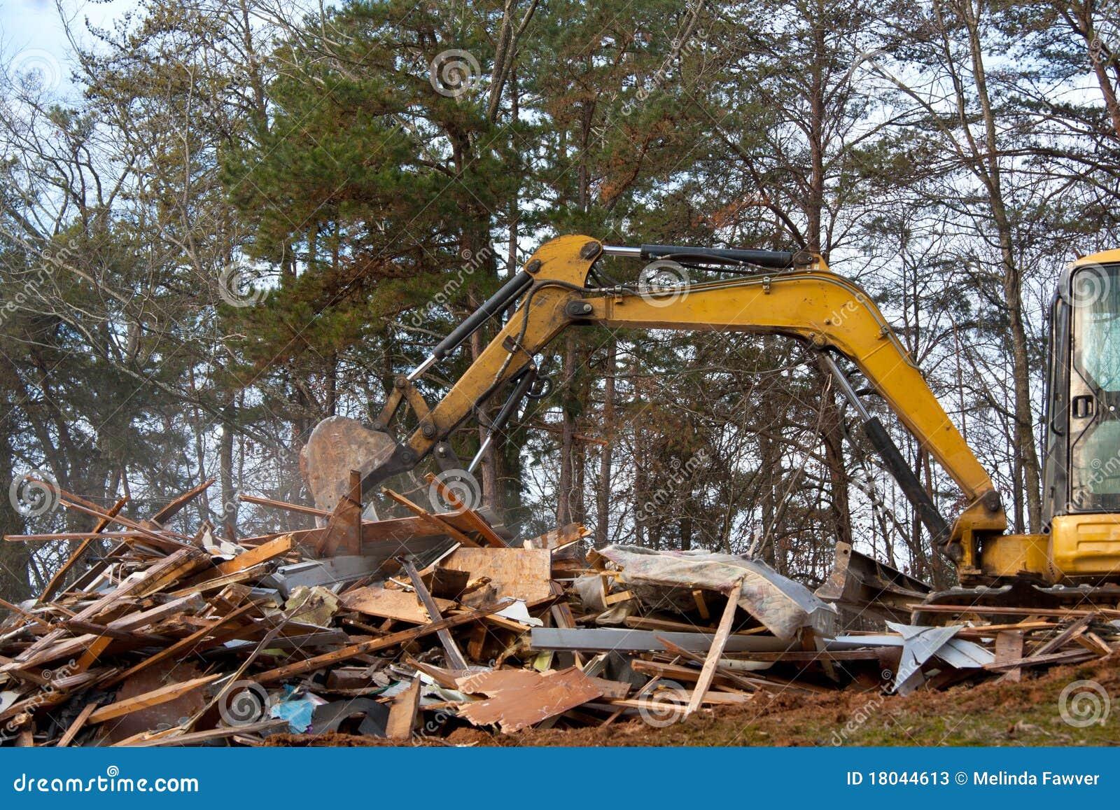 Demolição da casa