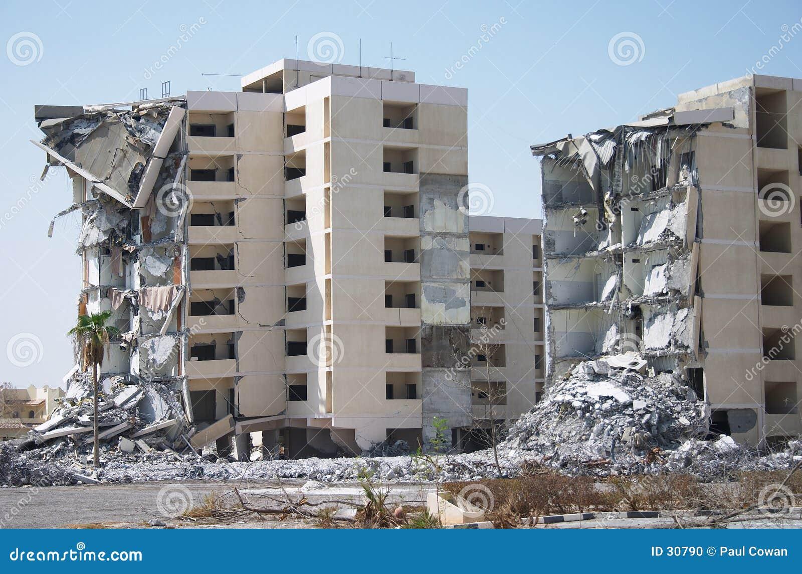 Download Demolición 2 foto de archivo. Imagen de golfo, arabia, persa - 30790