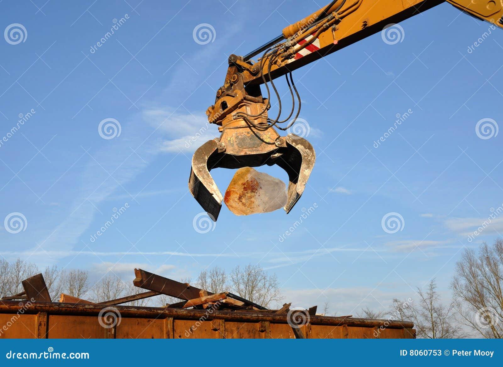 Demolition craneDemolition Crane