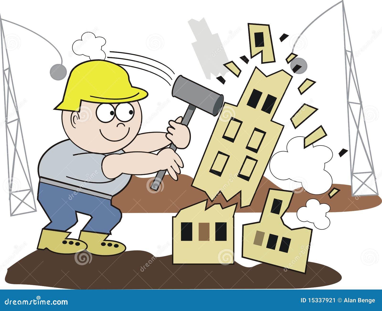 house demolition clipart - photo #1