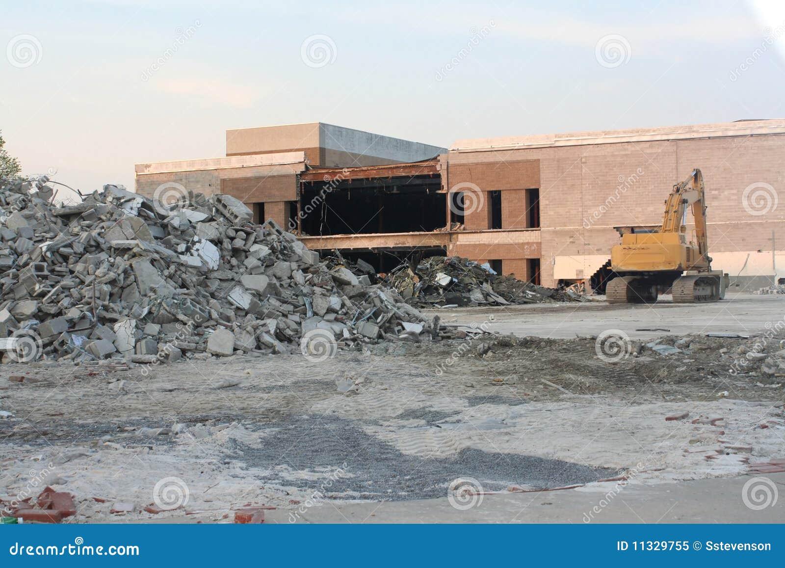 Royalty Free Stock Photo: Demolition Site: dreamstime.com/royalty-free-stock-photo-demolition-site-image11329755