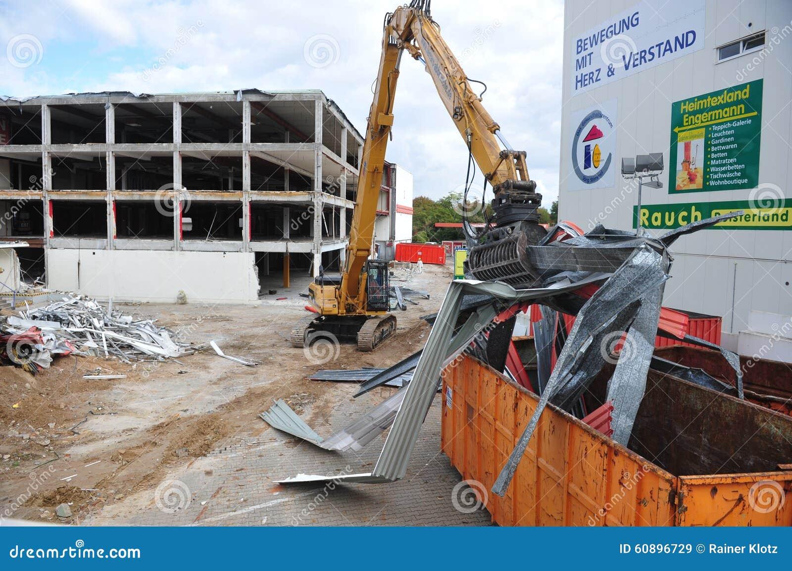 Building Demolition Cartoon : Demolition editorial photo cartoondealer