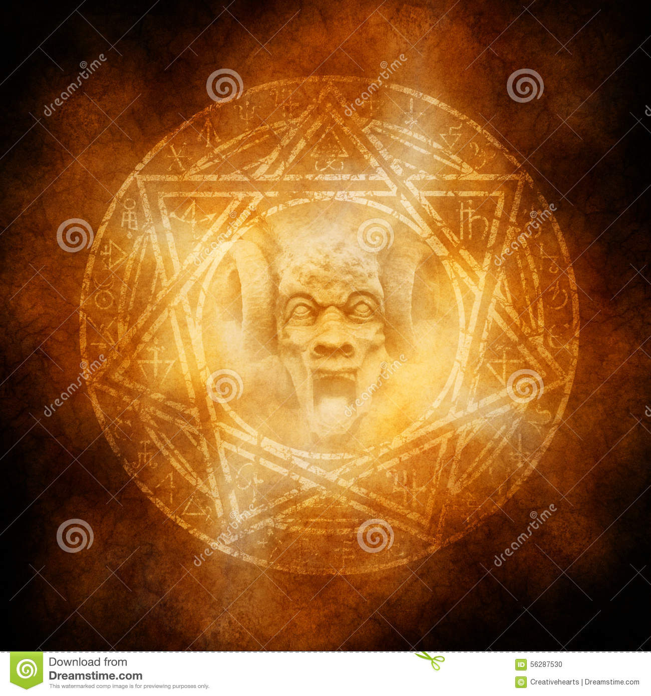 Demon Trap Stock Photo Image Of Demon Frightening Devil 56287530