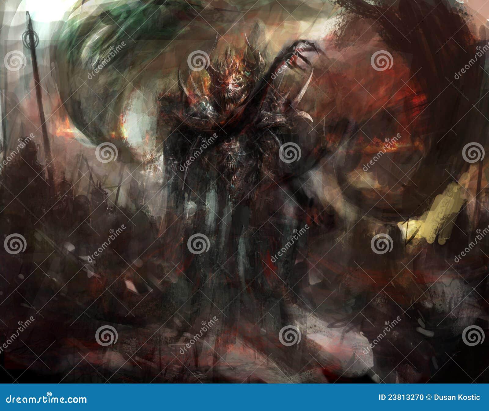Demonic shadow