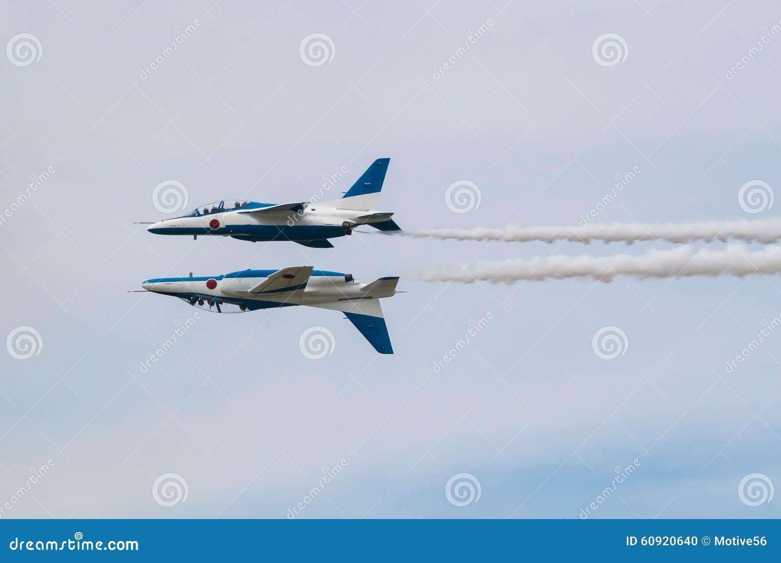 Demonstration Flights of Blue Impulse
