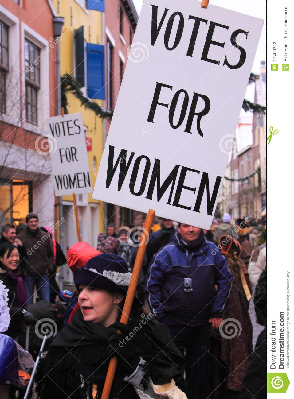 Demonstration For Women's Rights Editorial Photography ...