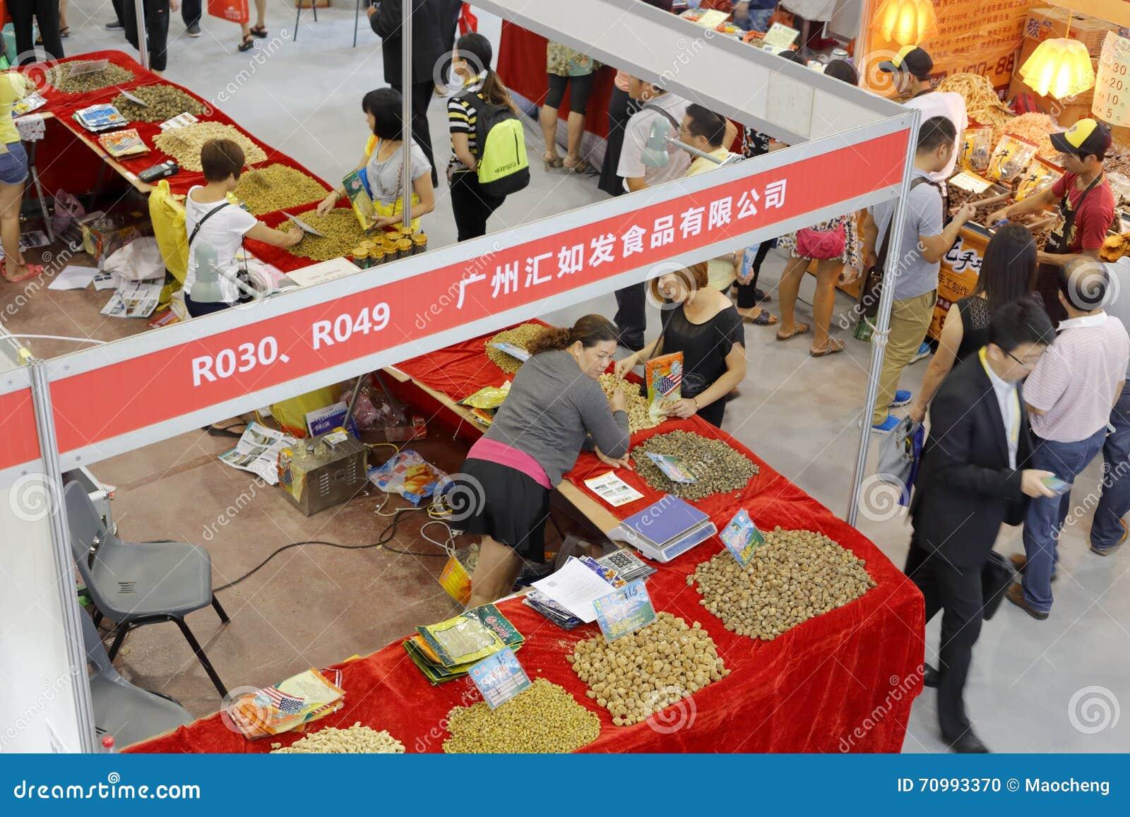 Demostración De La Especialidad De Guangzhou En Ferias De La Comida ...