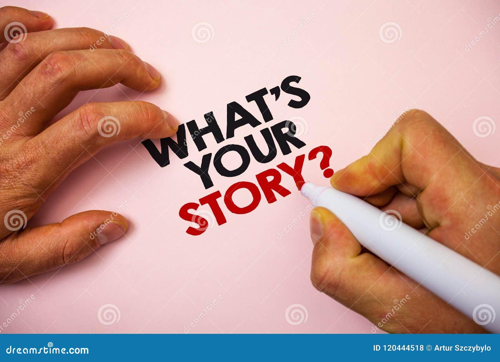 Demostración de la nota de la escritura cuál es su pregunta de la historia Foto del negocio que muestra pidiendo que alguien me d