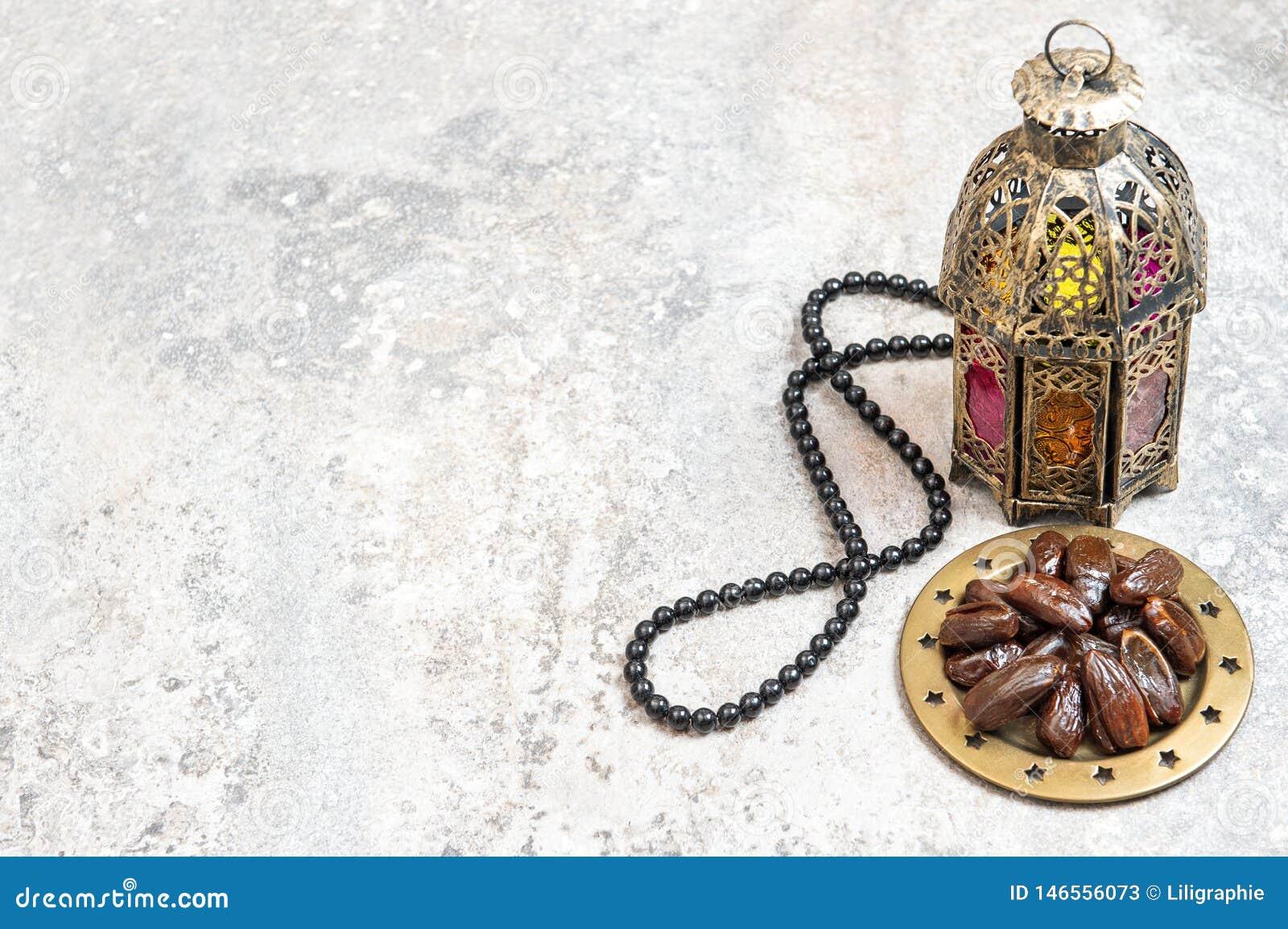 Den arabiska lyktan daterar radbandRamadangarnering
