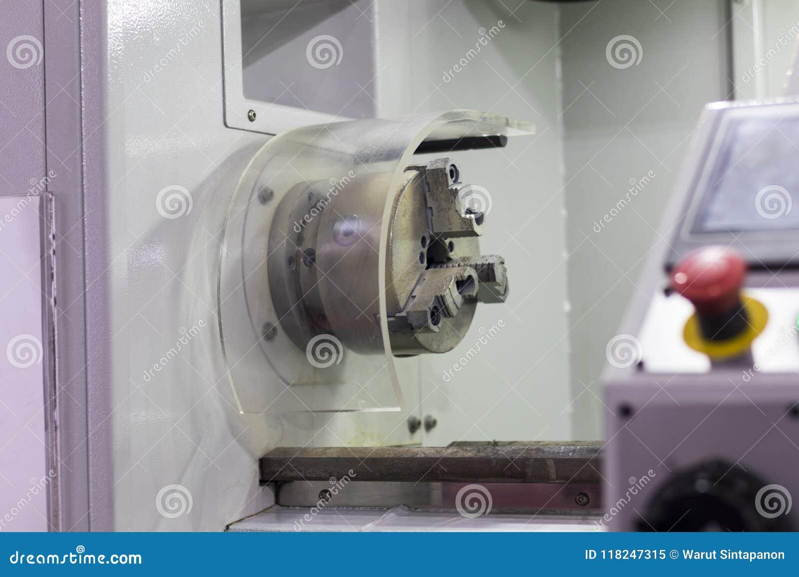 Den bearbeta med maskin säkerhetsvakten