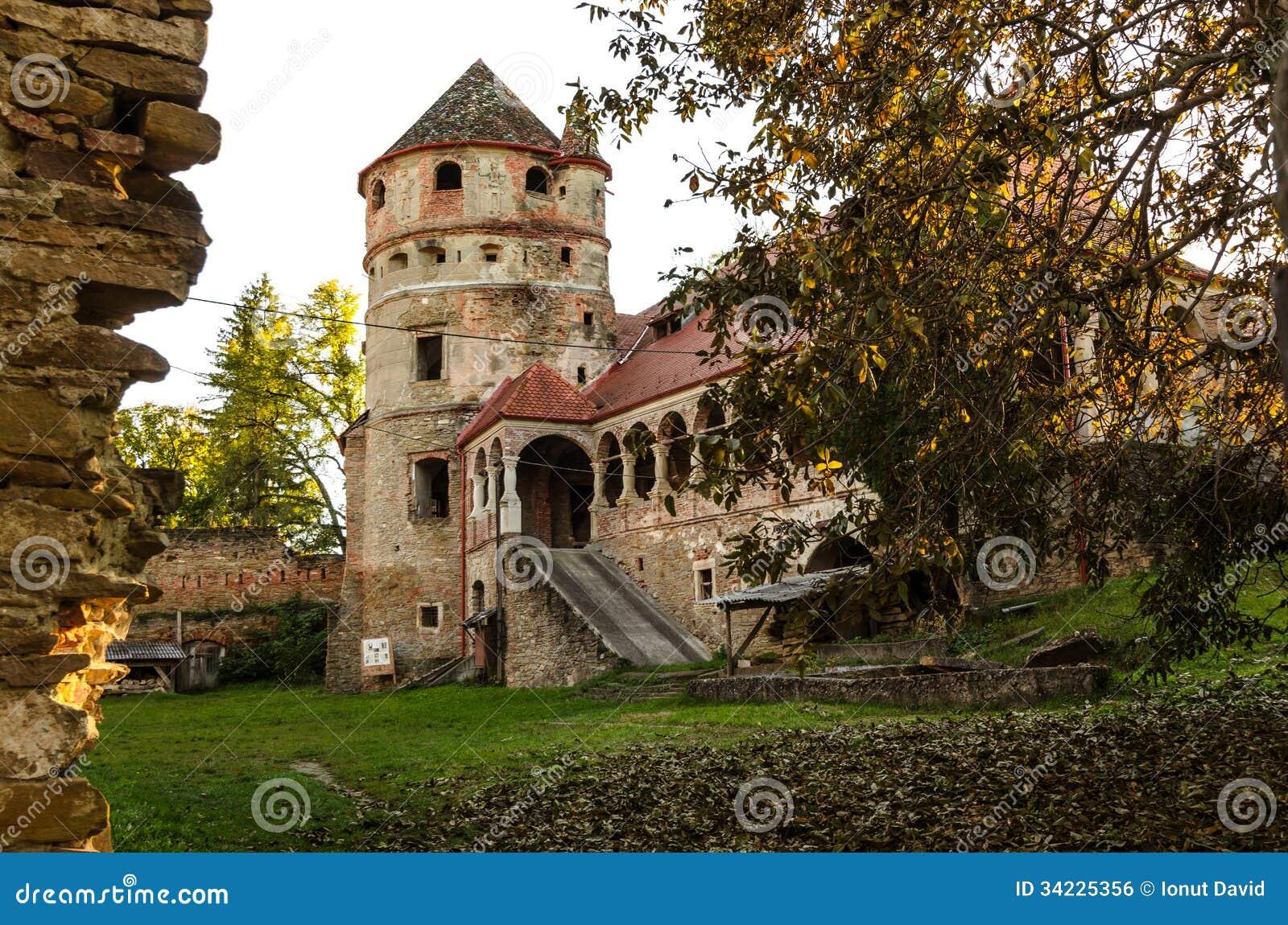 Den Bethlen slotten, Cris, Rumänien