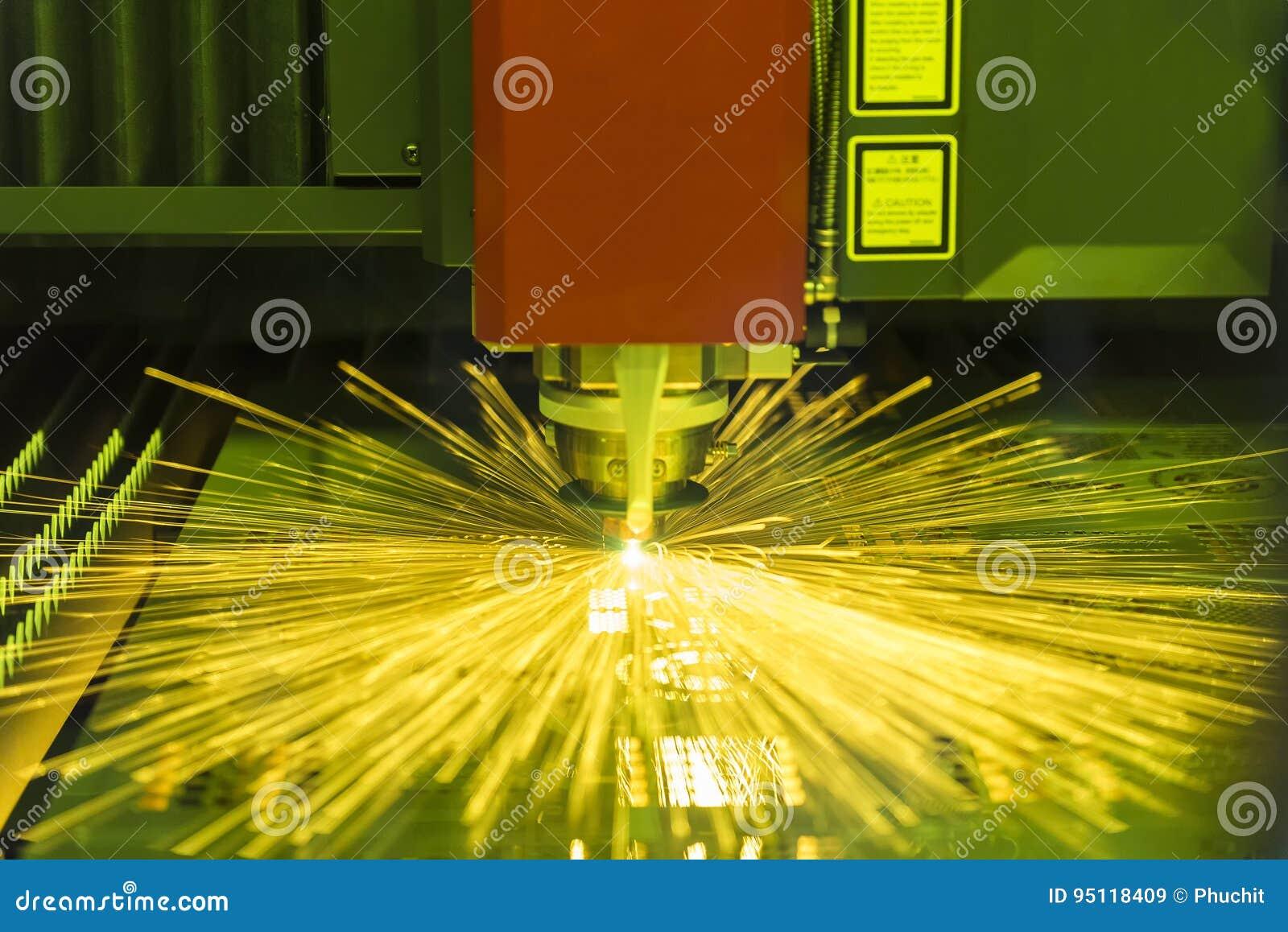 Den bitande maskinen för fiberlaser