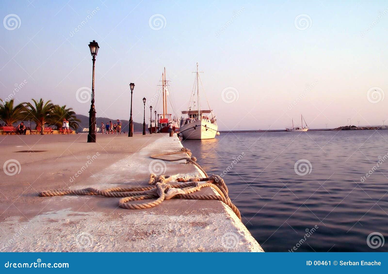 An den Docks