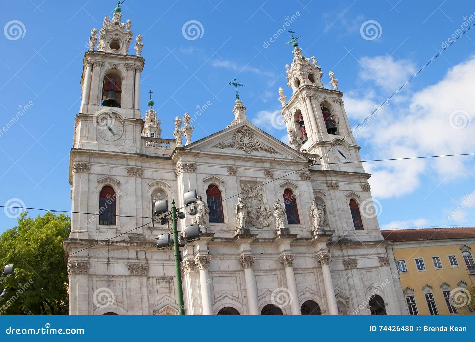 Den Estrela basilikan eller kunglig personbasilika