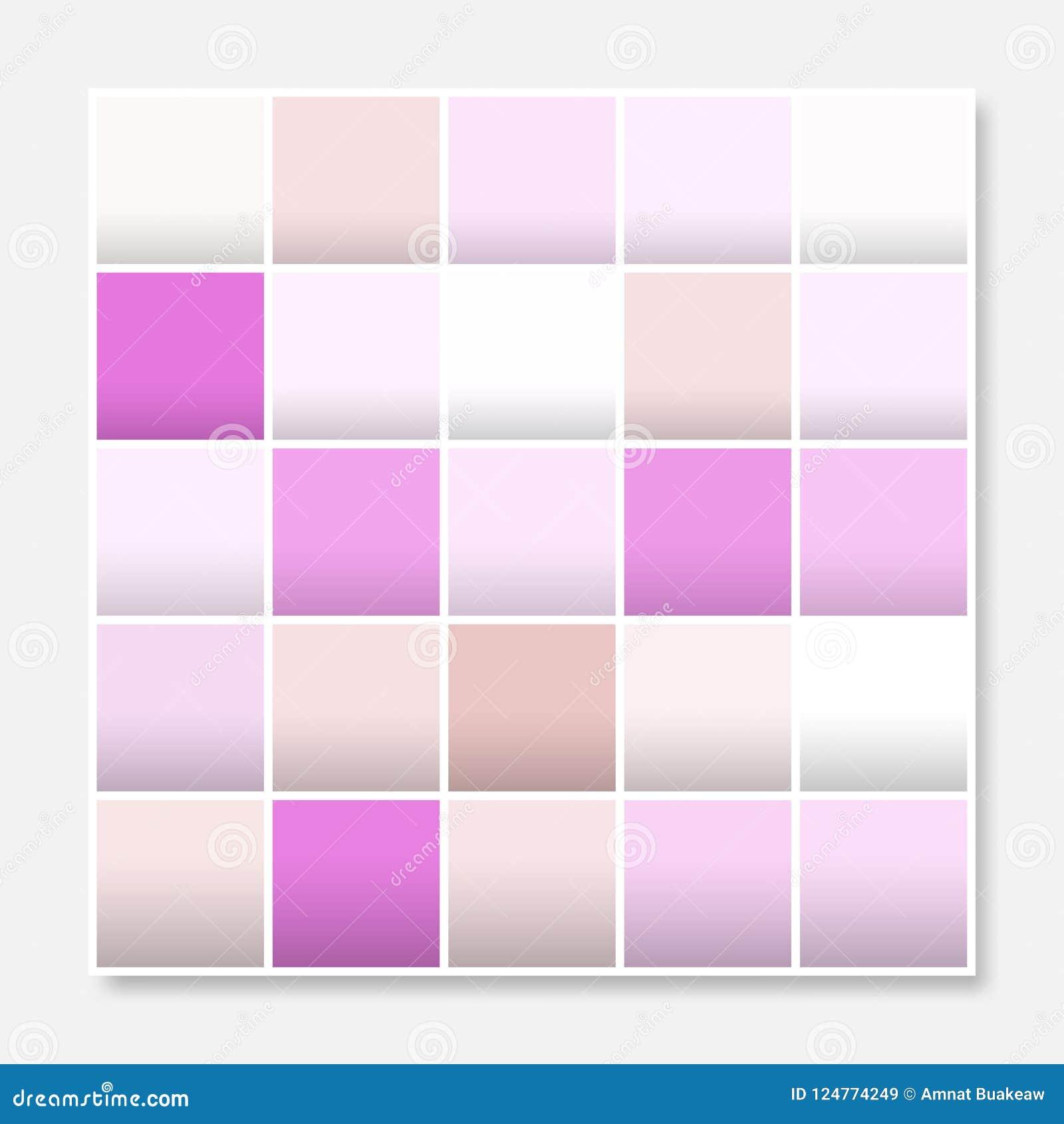 Den färgrika fyrkantbakgrundsramen, blockerar mjuka lilor för pastellfärgade rosa färger