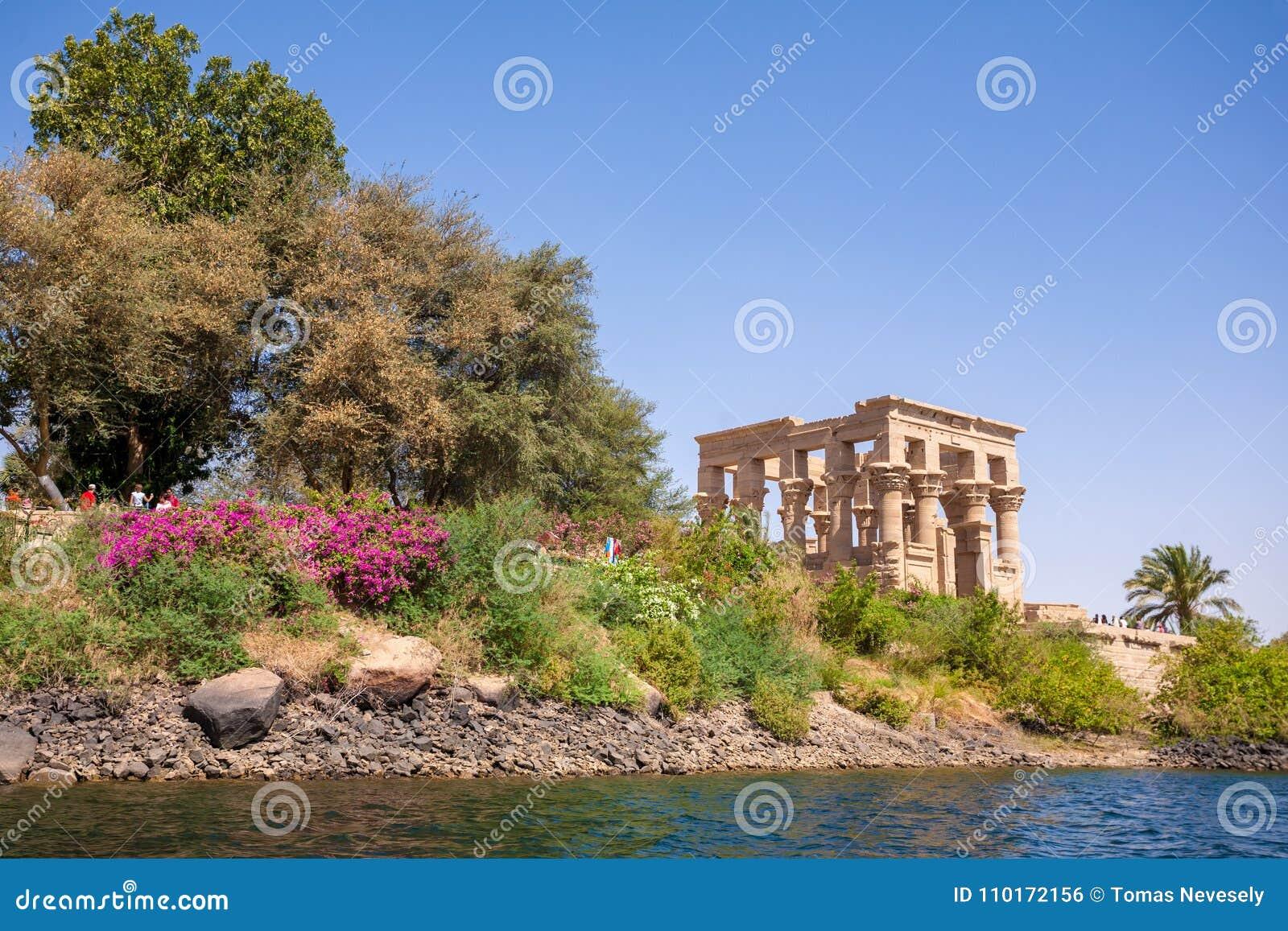 Den forntida templet av Philae