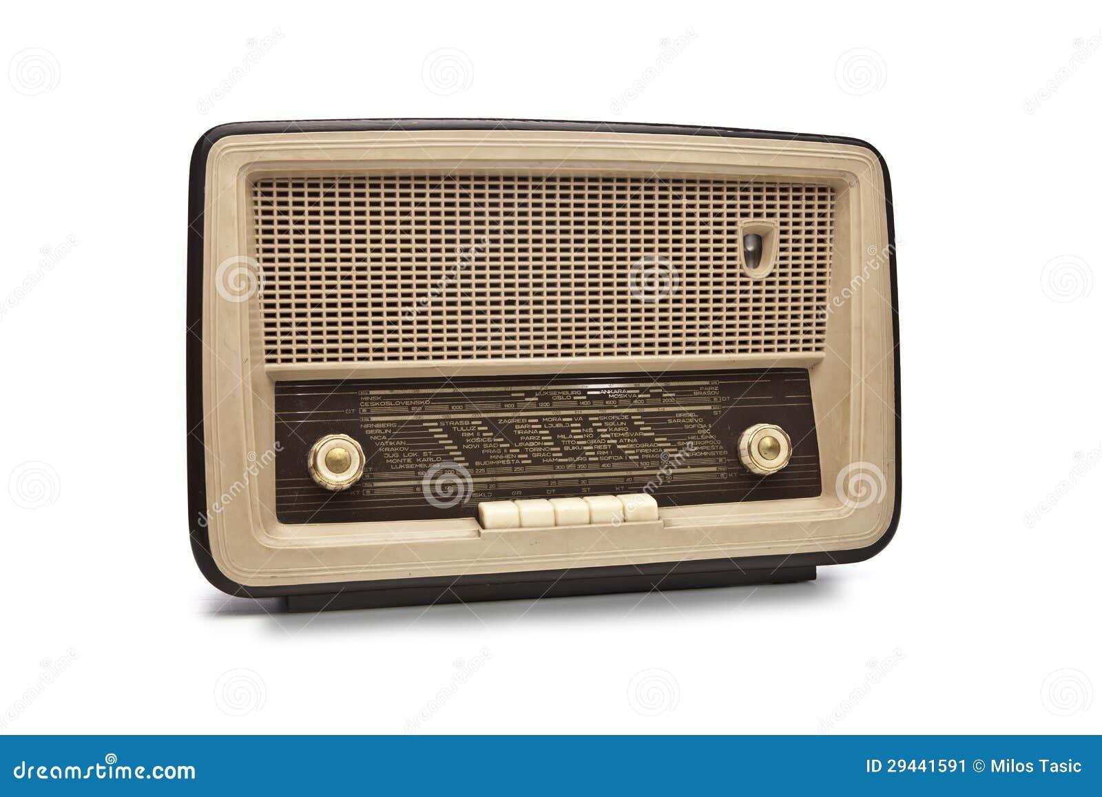 Den gammala antikviteten radiosände